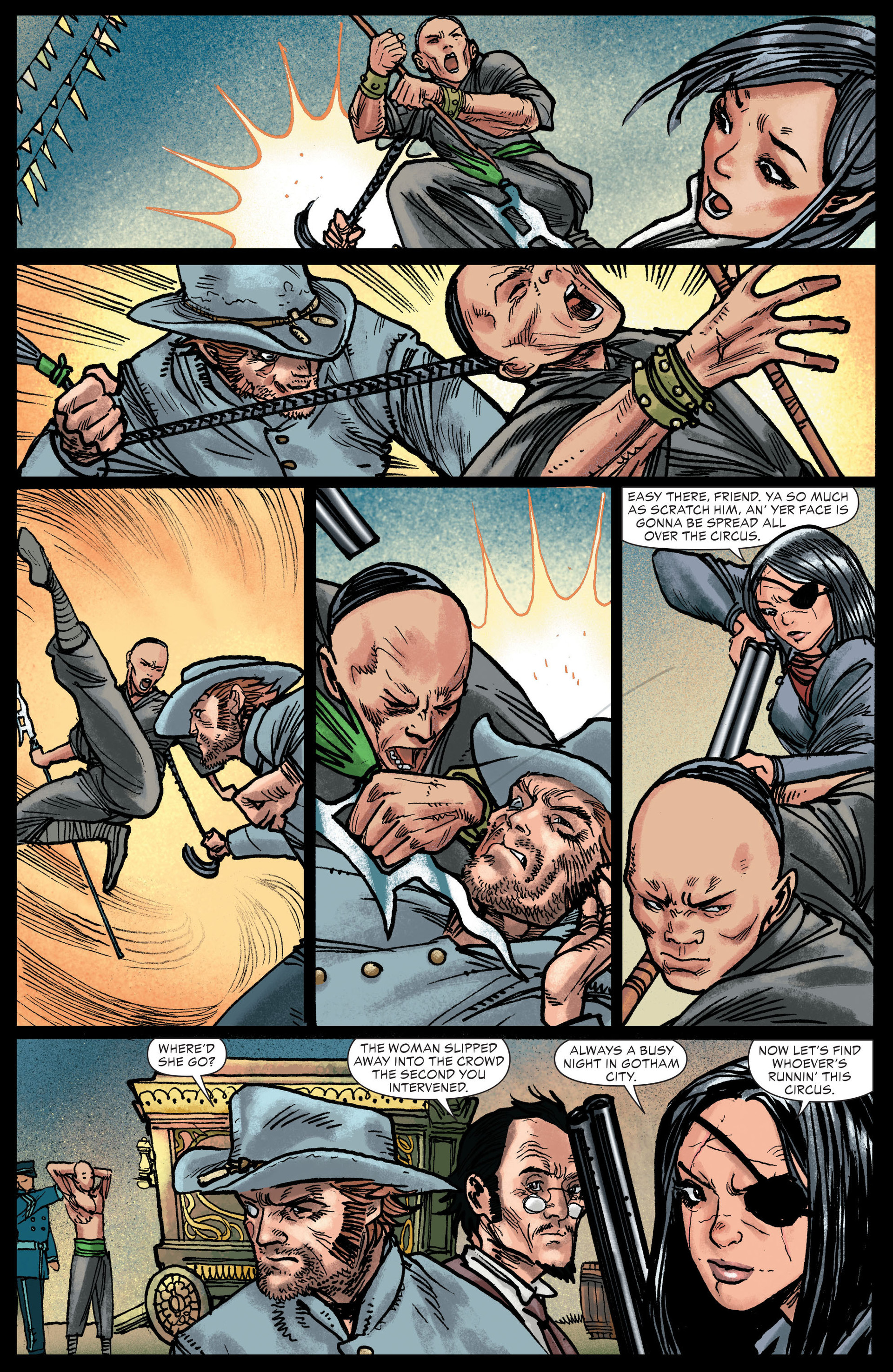 Read online All-Star Western (2011) comic -  Issue #13 - 12