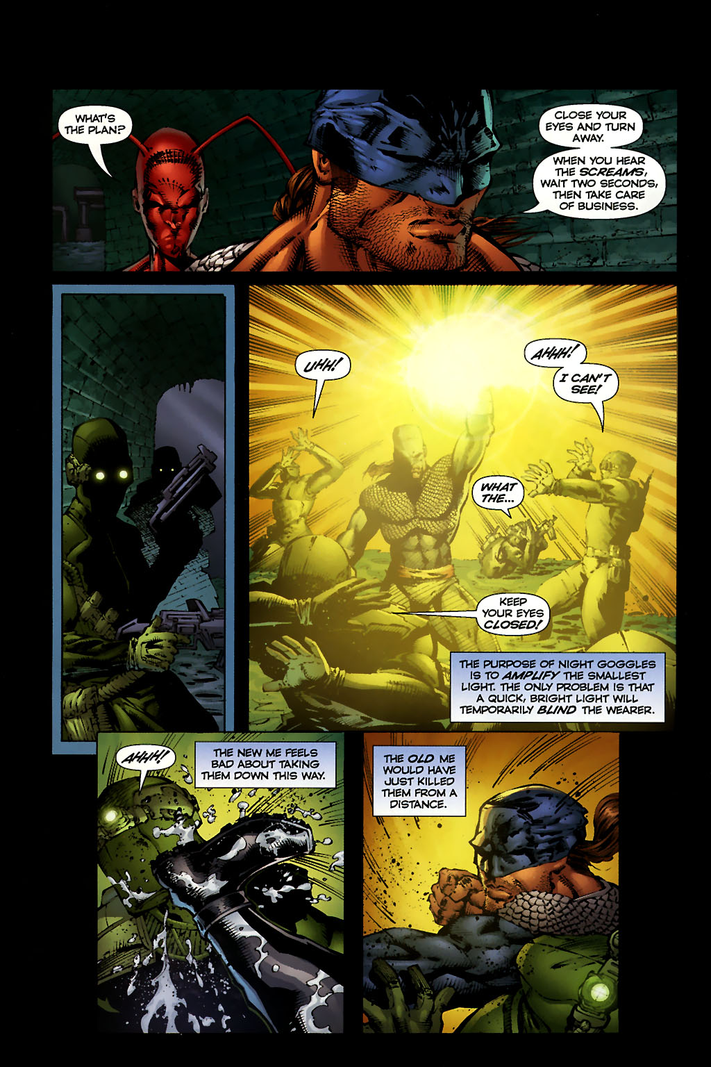 Read online Ant comic -  Issue #10 - 14