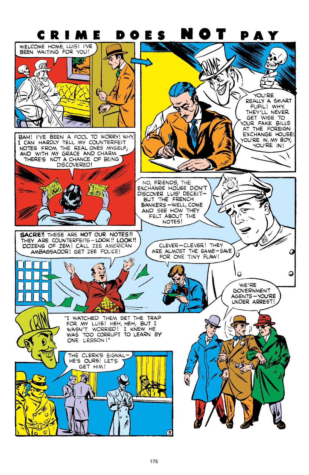 Read online Crime Does Not Pay Archives comic -  Issue # TPB 5 (Part 2) - 75