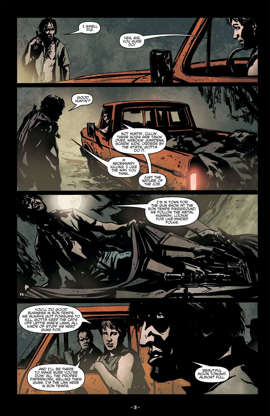 Read online True Blood (2012) comic -  Issue #6 - 6