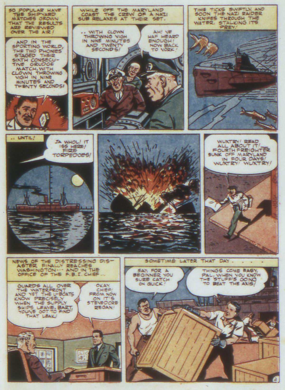 Read online Detective Comics (1937) comic -  Issue #74 - 43