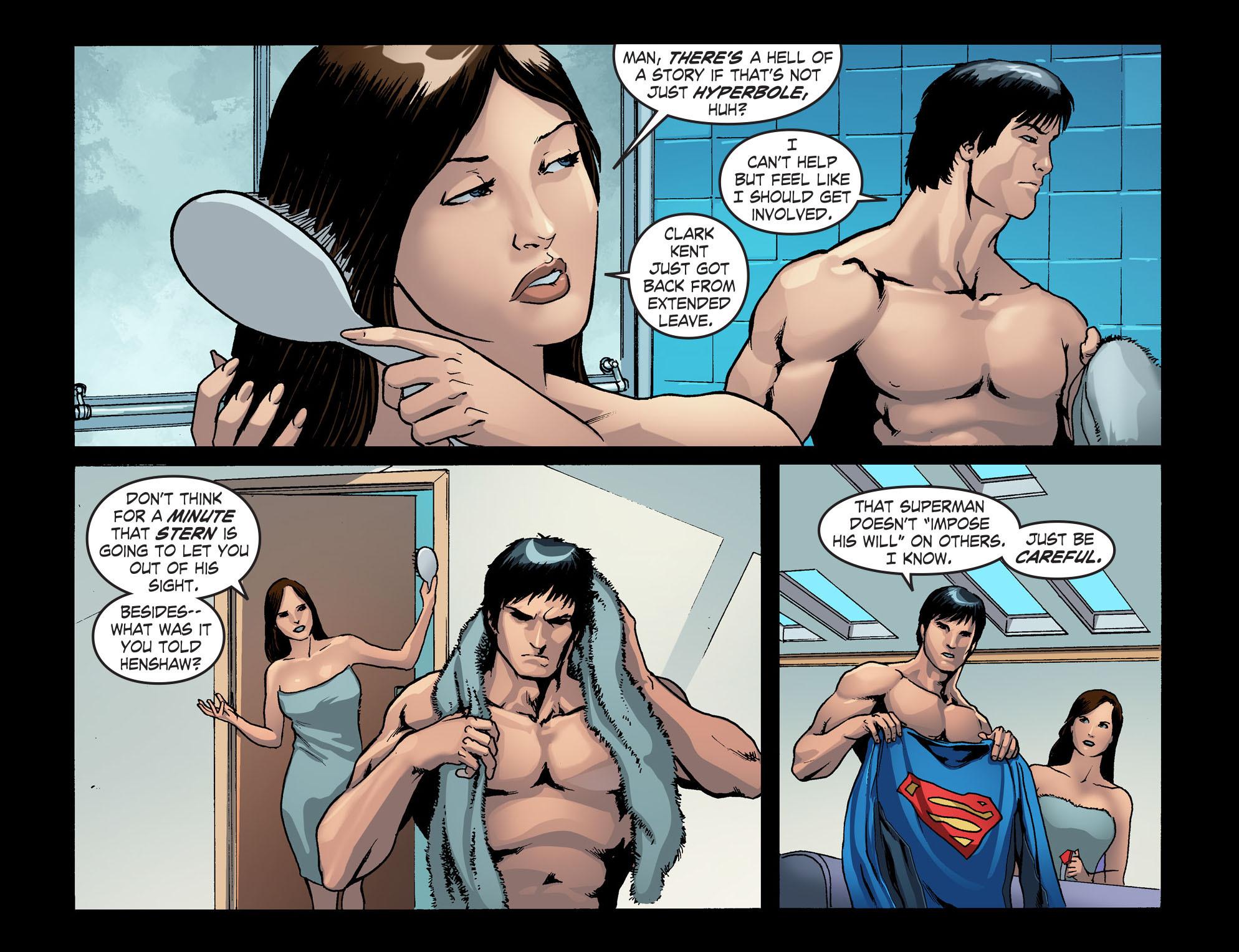 Read online Smallville: Season 11 comic -  Issue #42 - 13