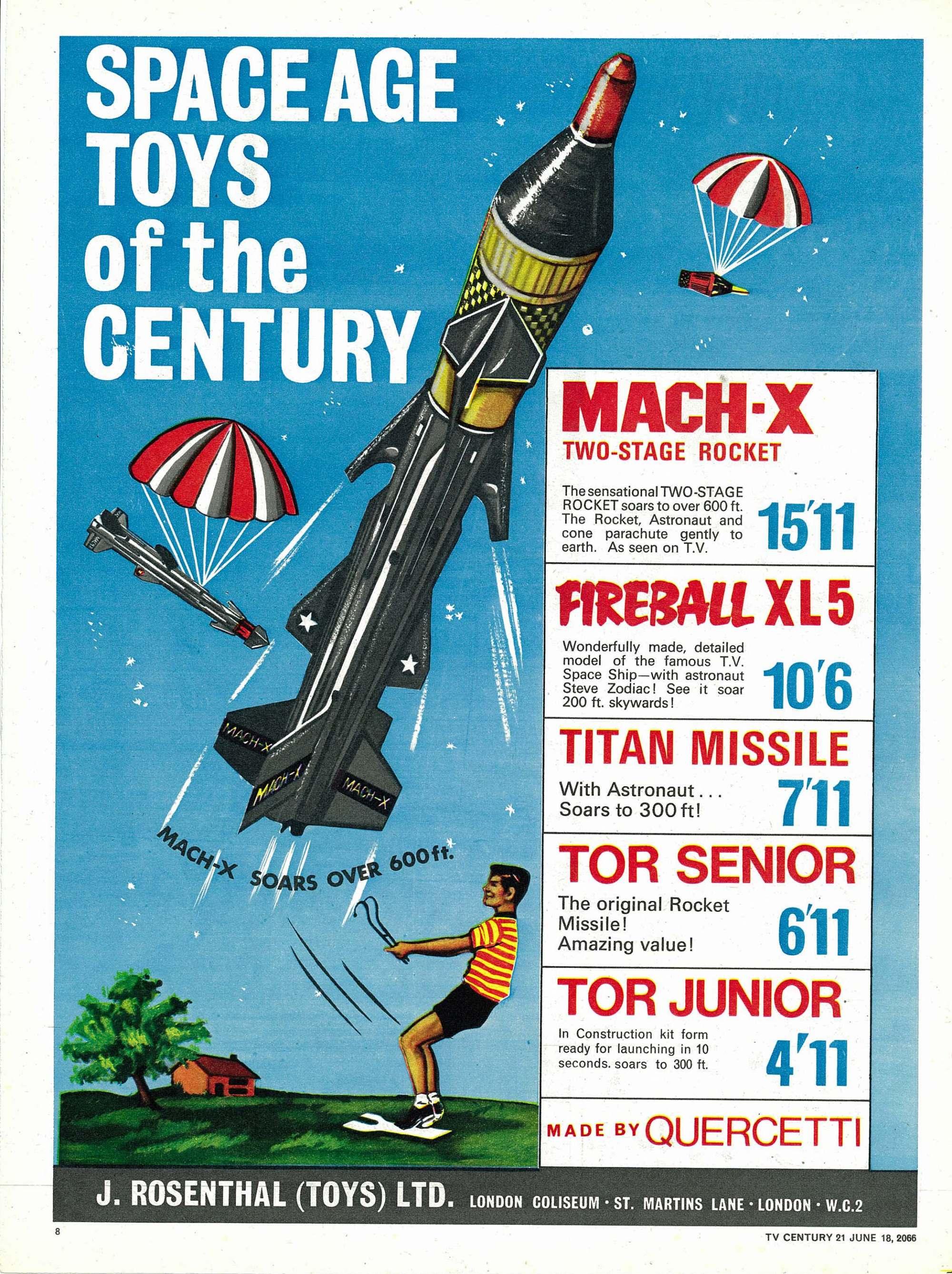 Read online TV Century 21 (TV 21) comic -  Issue #74 - 8