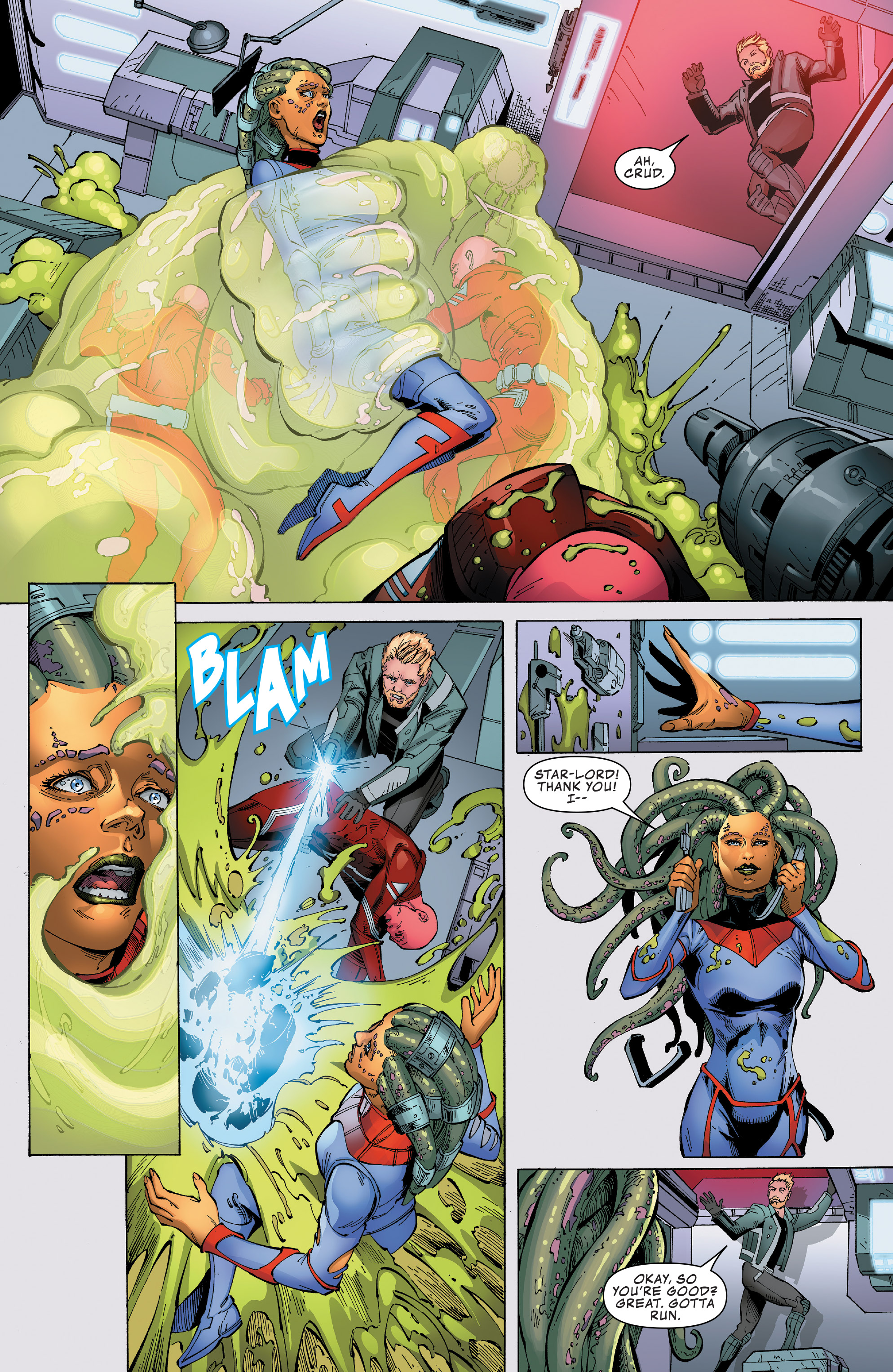 Read online Guardians of the Galaxy: Mission Breakout comic -  Issue # Full - 26