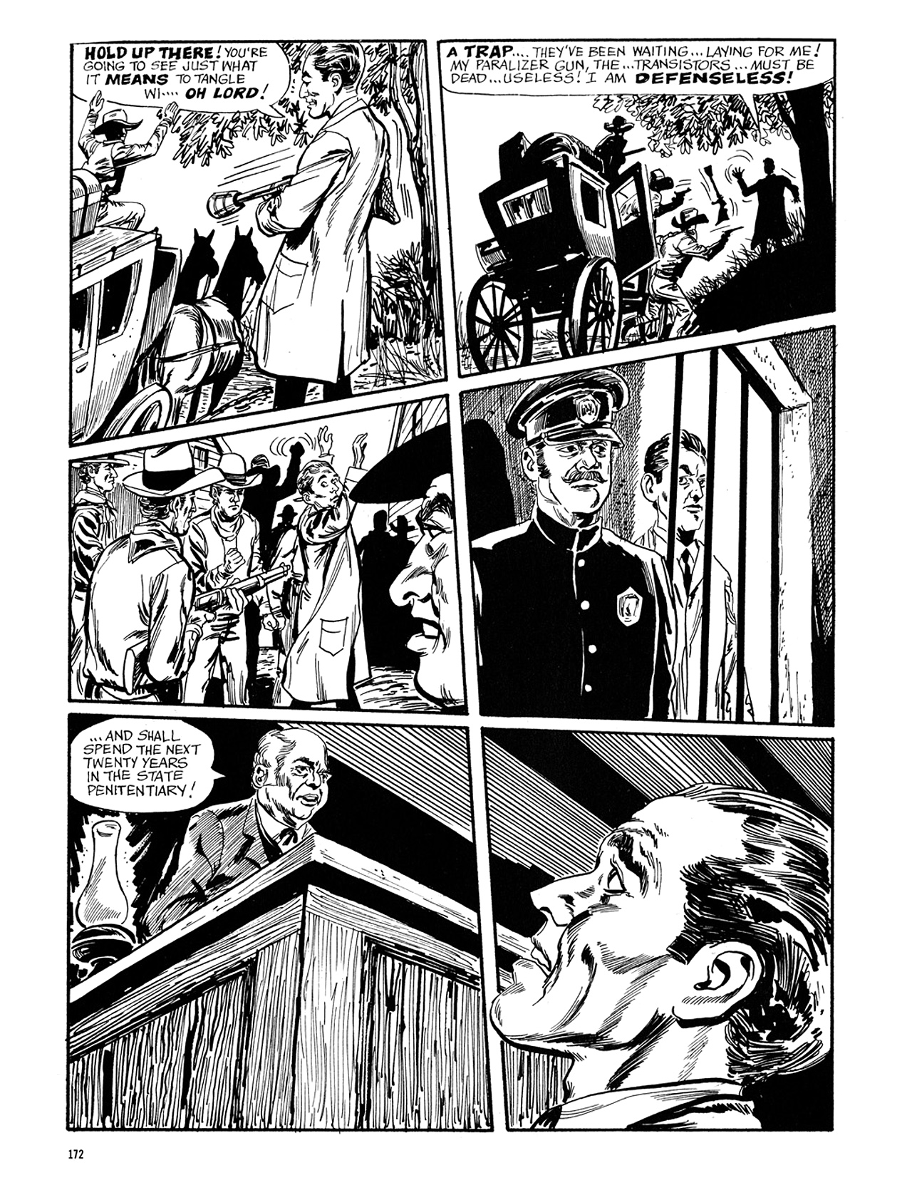 Read online Eerie Archives comic -  Issue # TPB 5 - 173