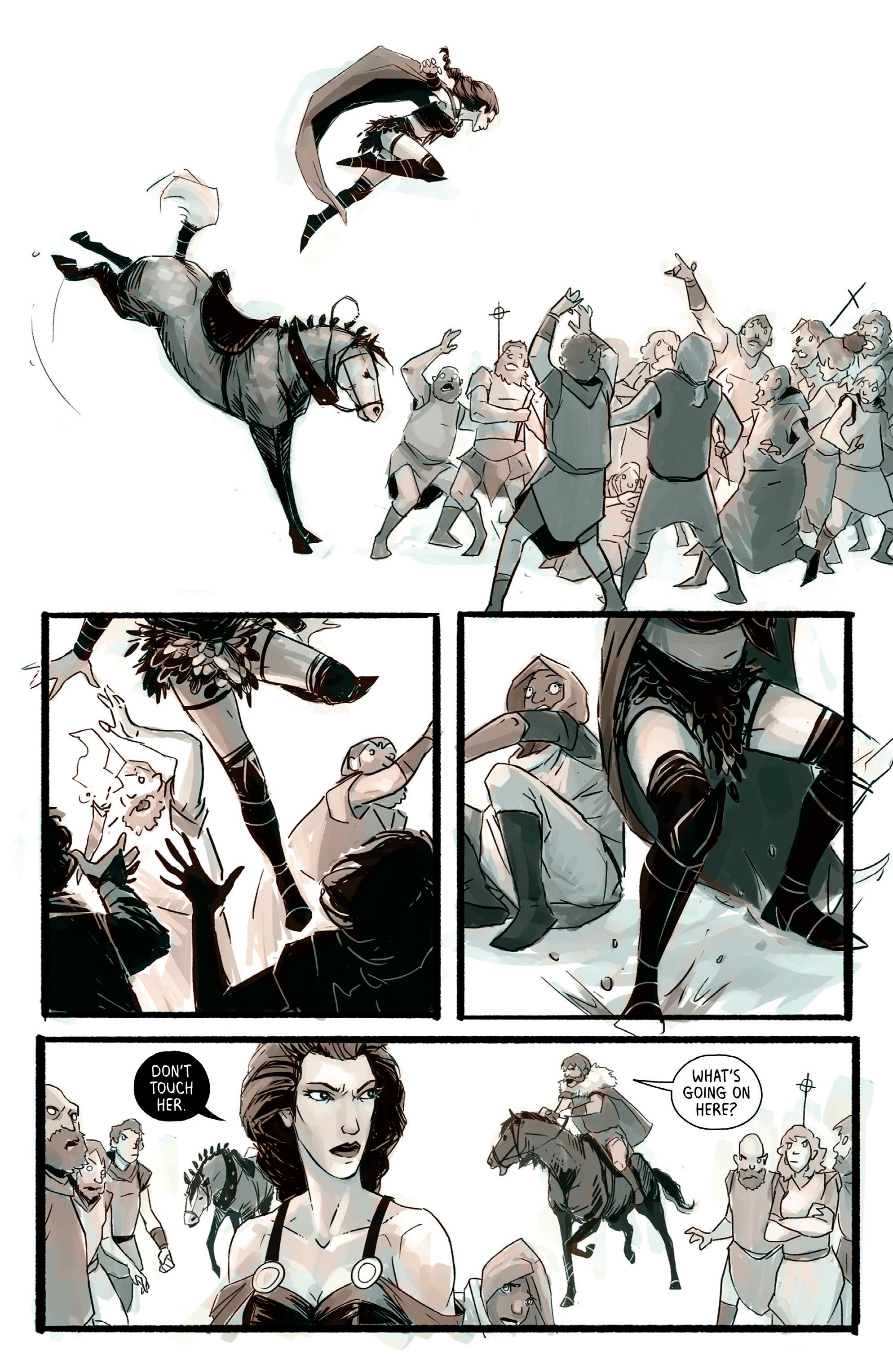Read online Heathen (2017) comic -  Issue #4 - 9