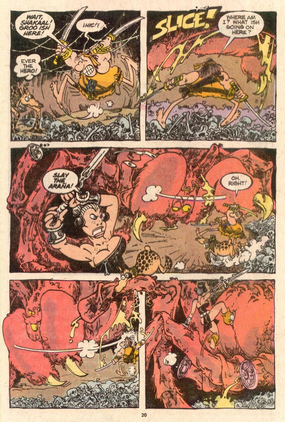 Read online Sergio Aragonés Groo the Wanderer comic -  Issue #52 - 21