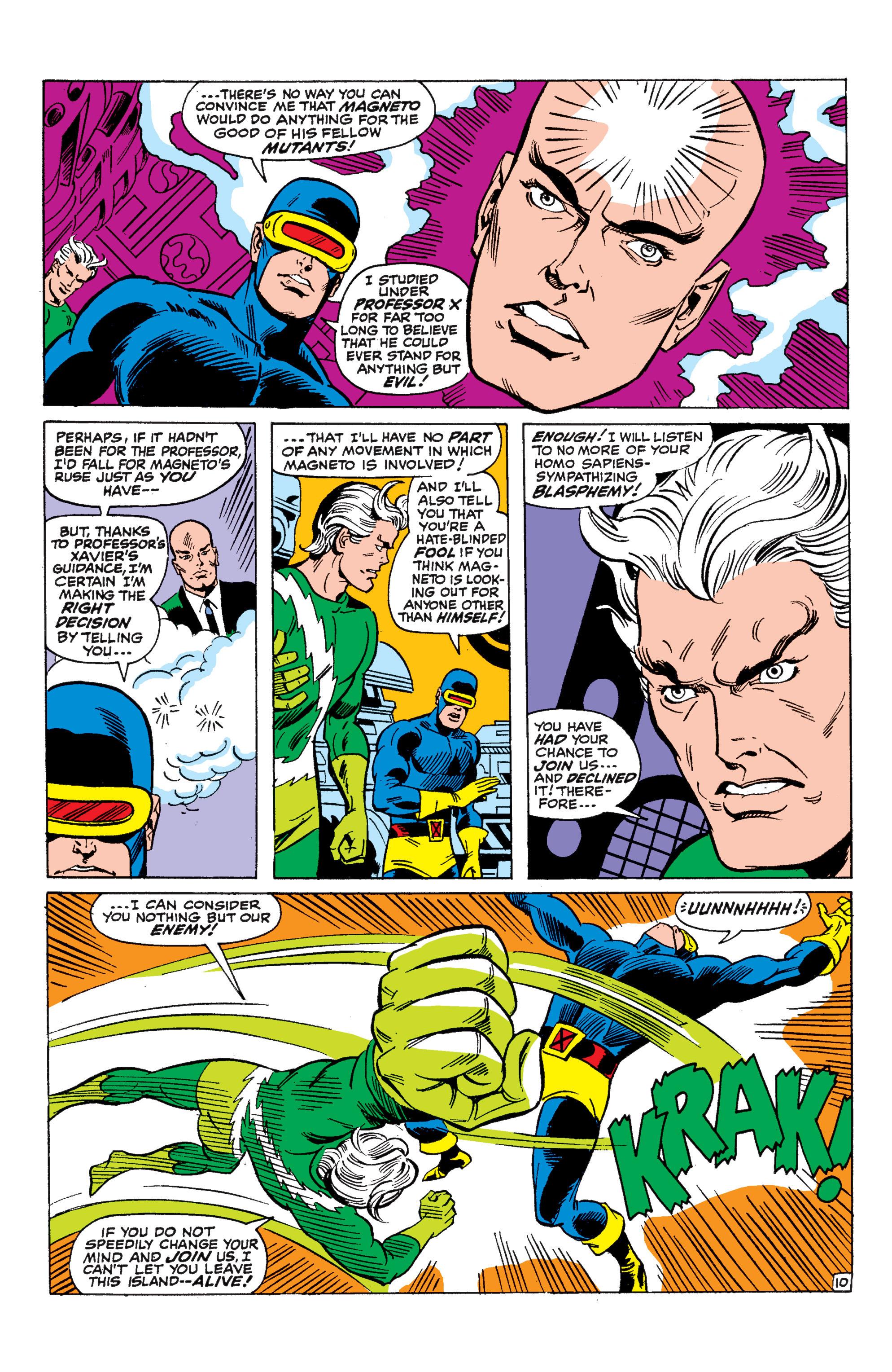 Uncanny X-Men (1963) 45 Page 10