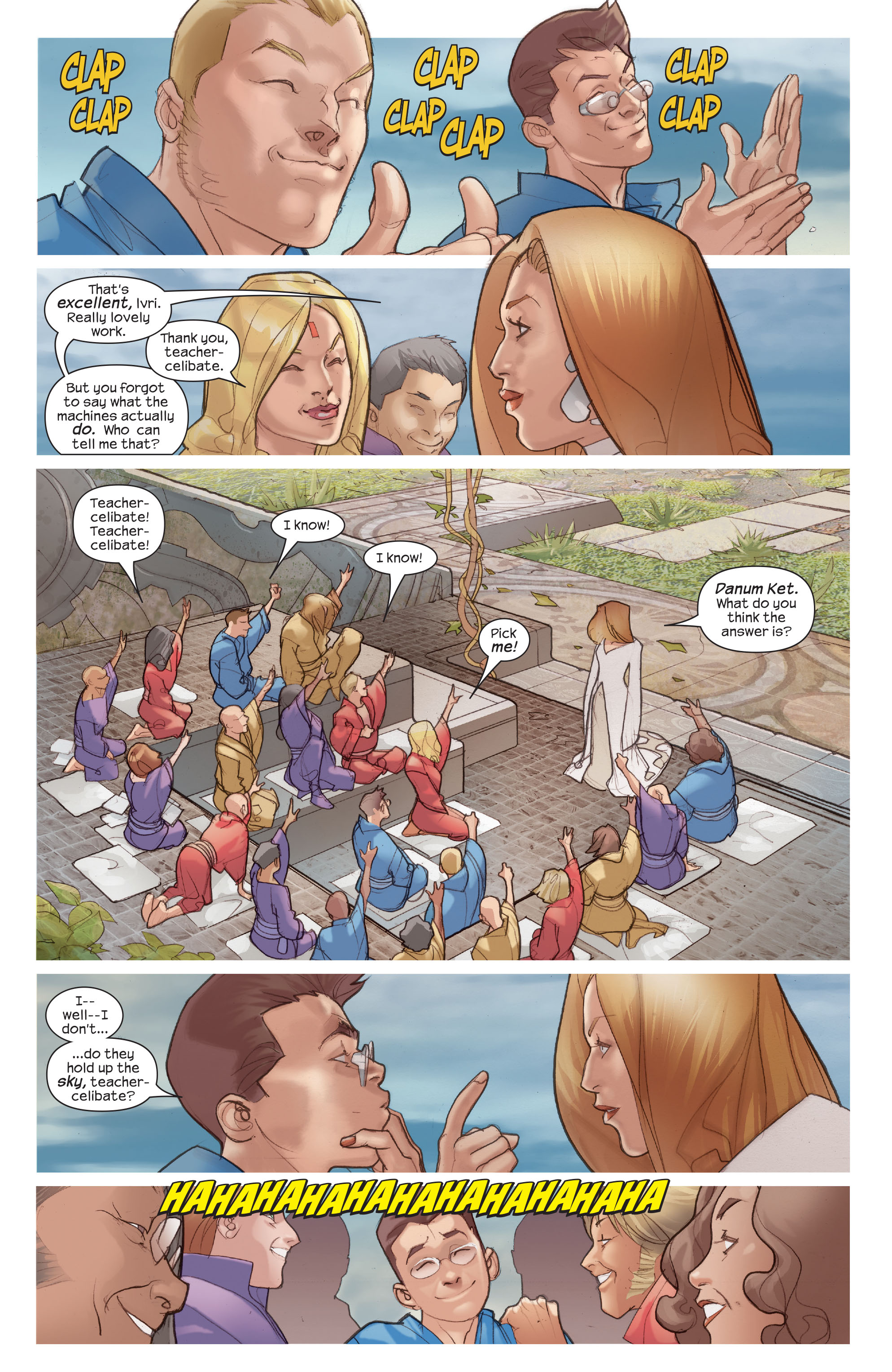 Read online Ultimate Fantastic Four (2004) comic -  Issue #45 - 4