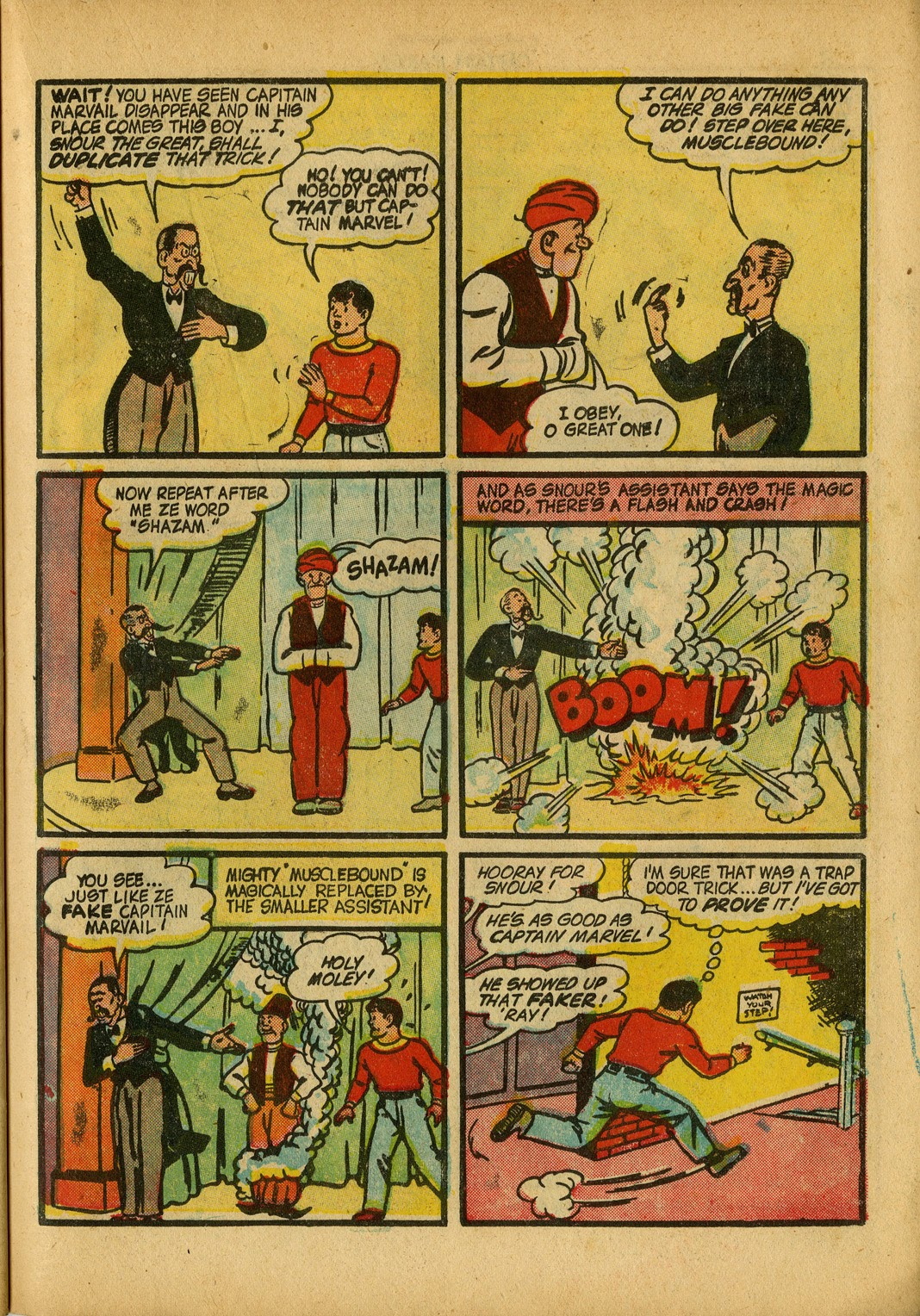 Captain Marvel Adventures issue 34 - Page 43