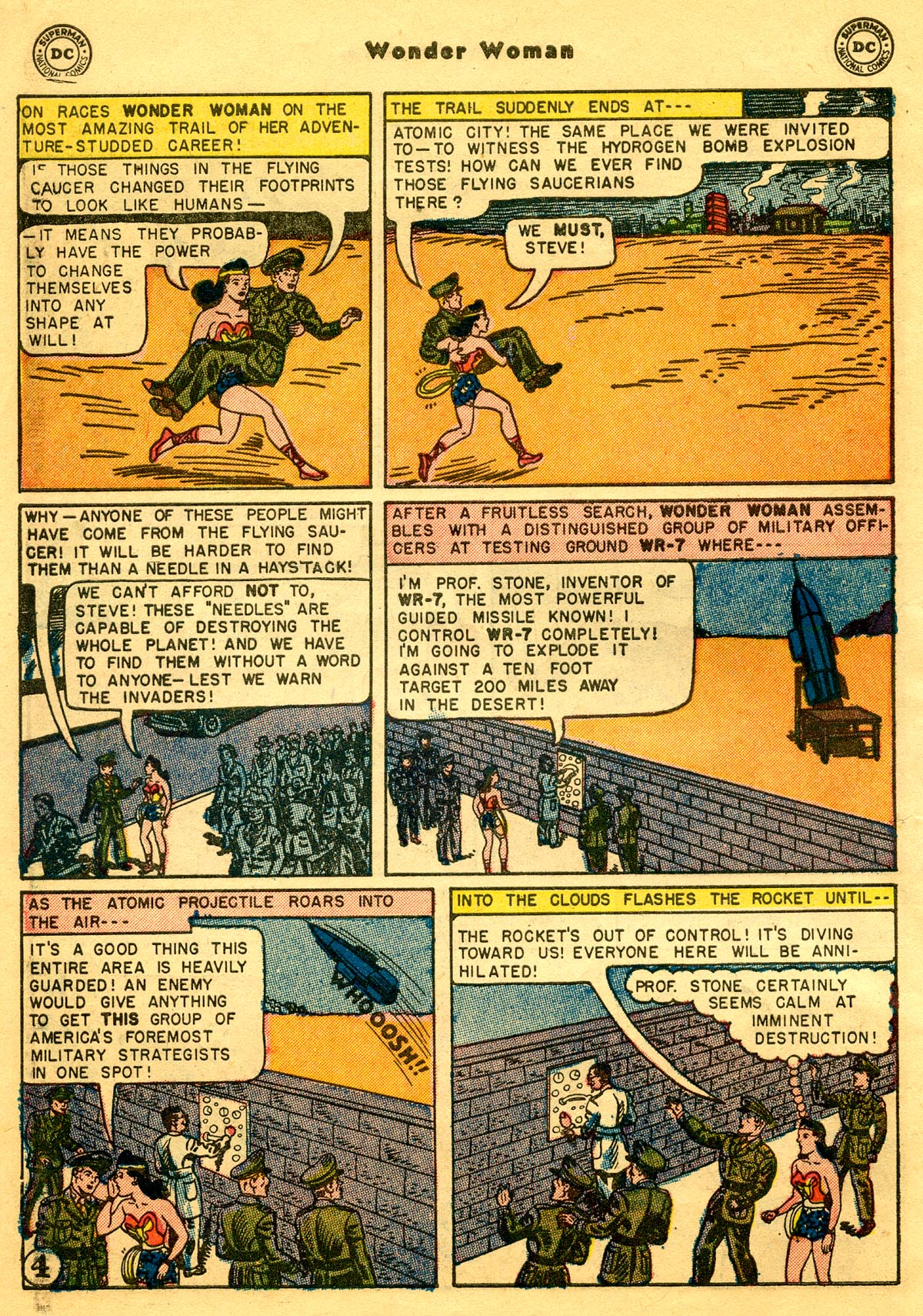 Read online Wonder Woman (1942) comic -  Issue #68 - 6