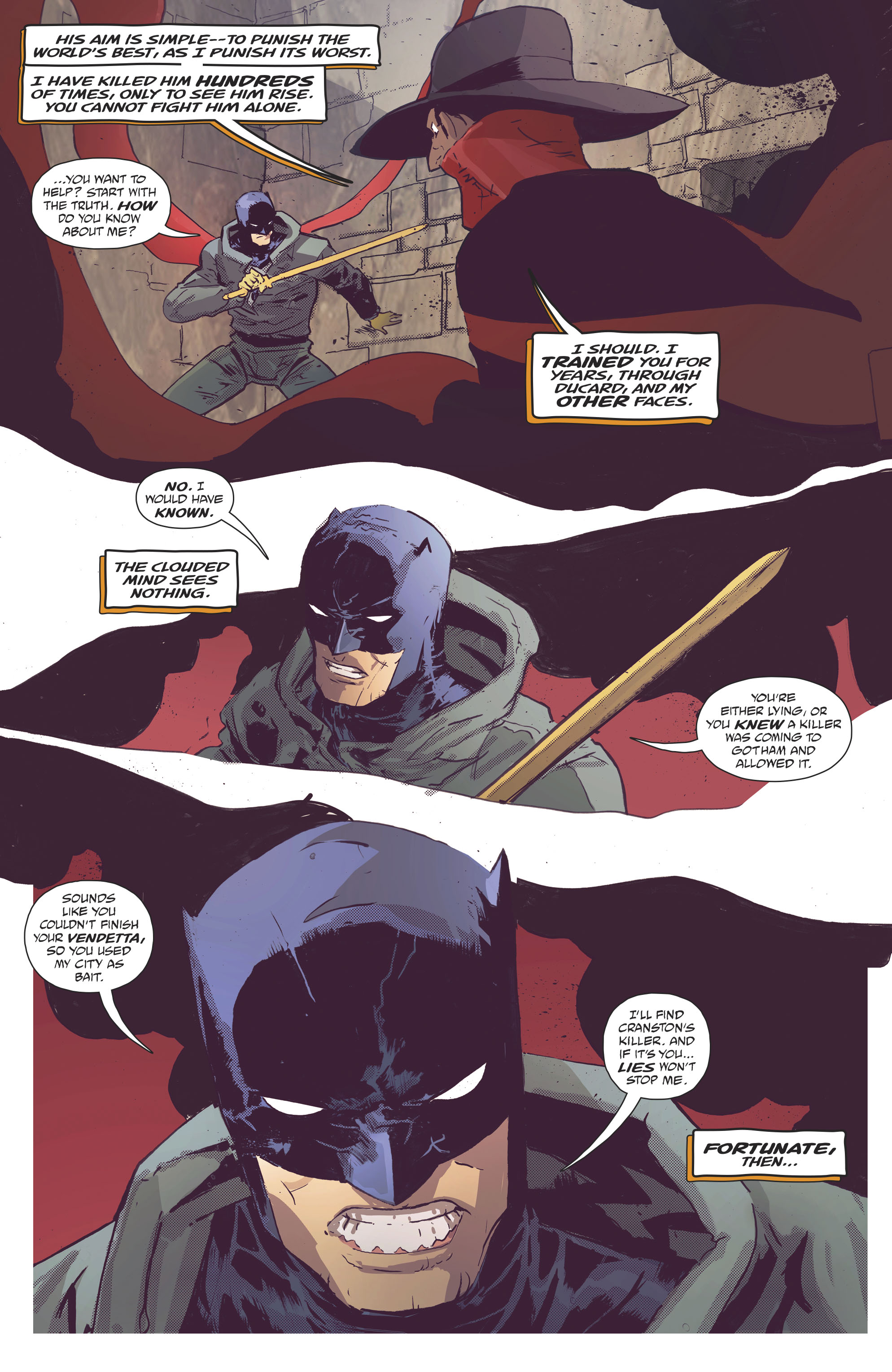 Read online Batman/Shadow comic -  Issue #2 - 10