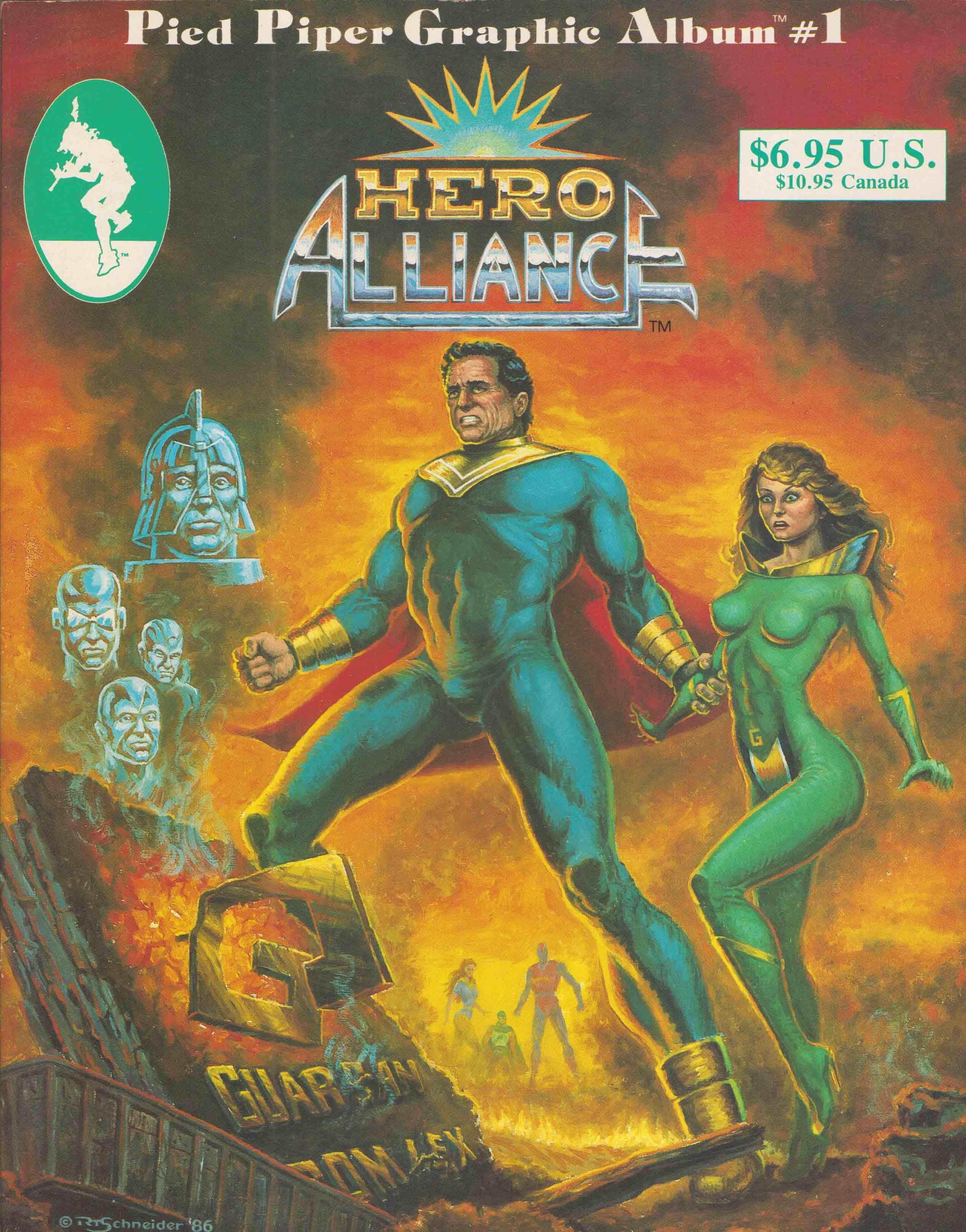 Hero Alliance (1986) Full Page 1