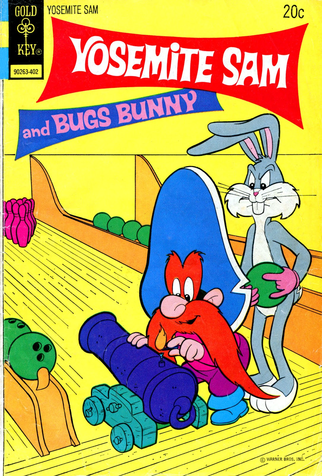 Yosemite Sam and Bugs Bunny issue 19 - Page 1