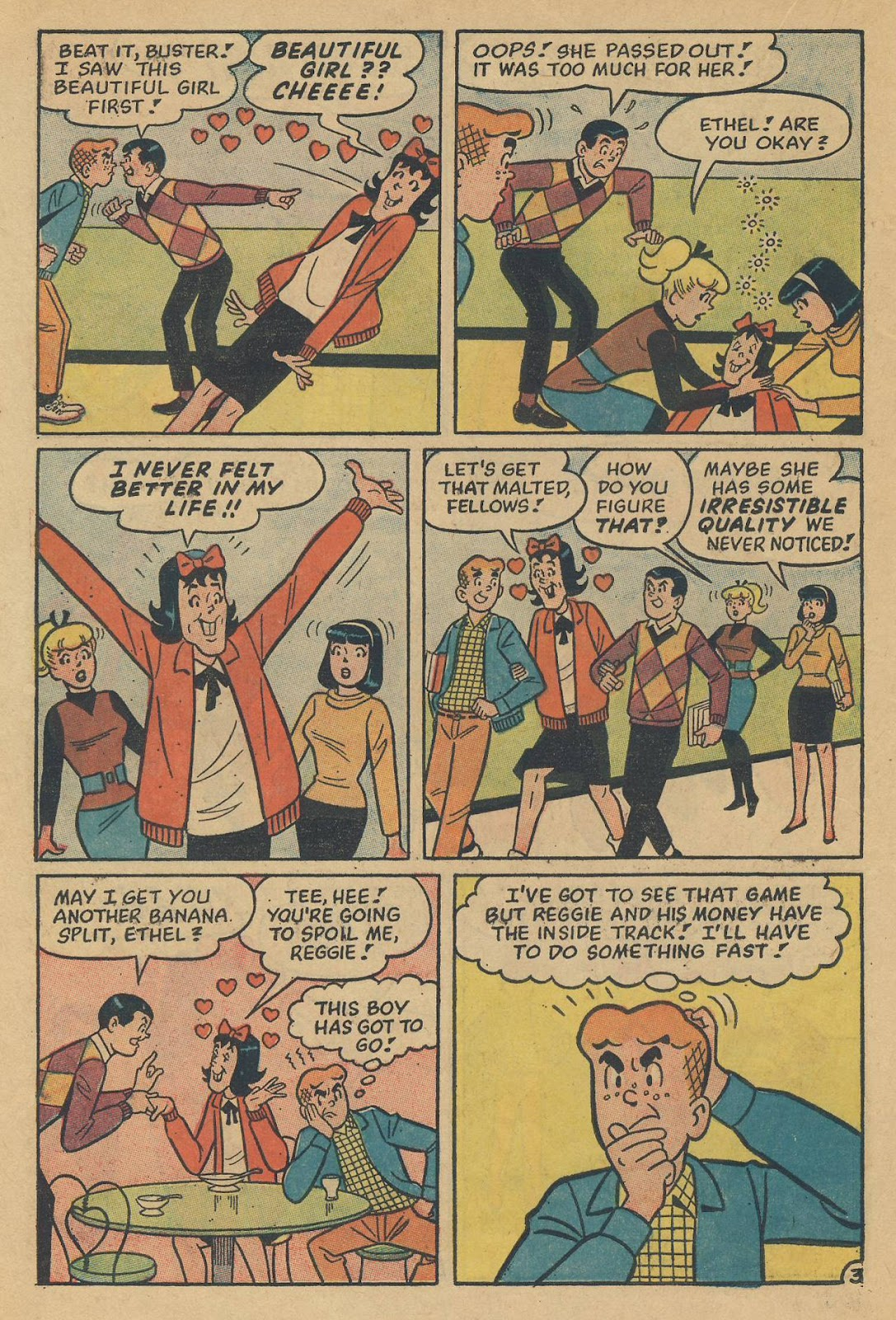 Read online Archie (1960) comic -  Issue #170 - 22