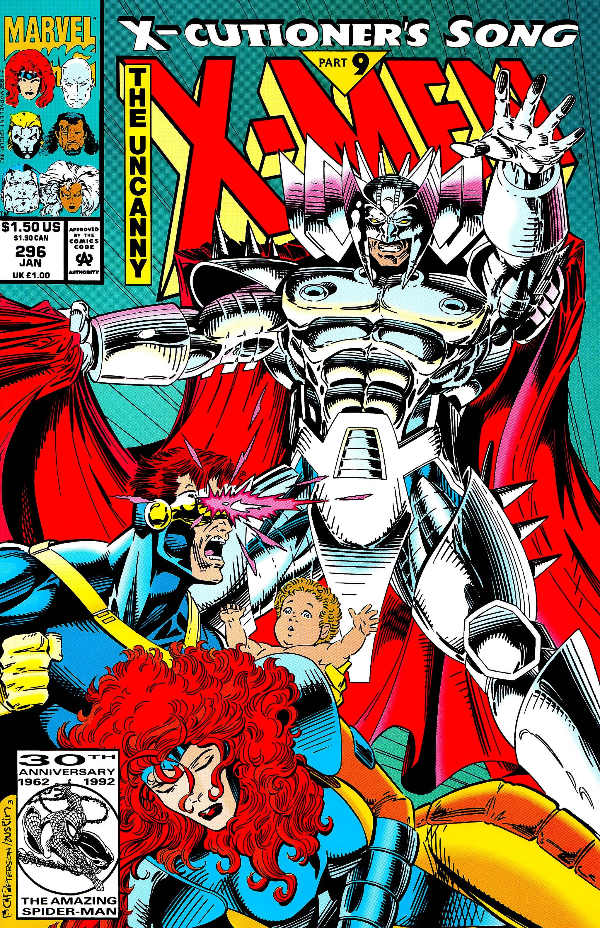 Uncanny X-Men (1963) 296 Page 1