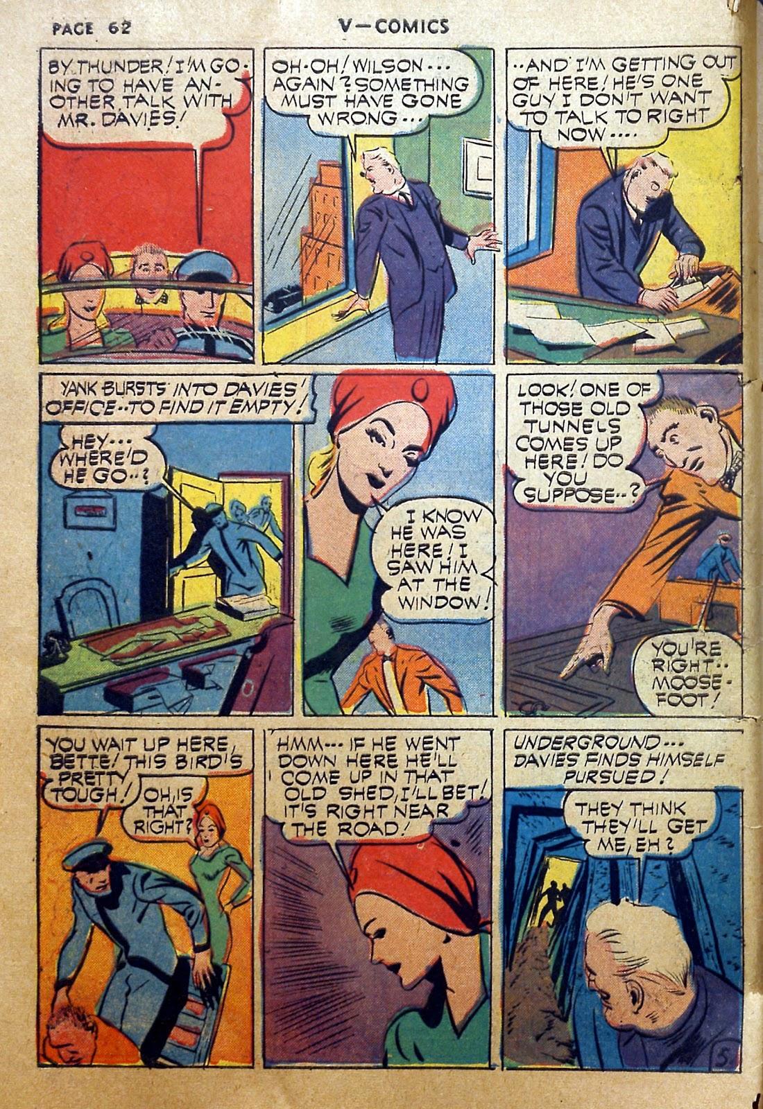 Read online V...- Comics comic -  Issue #2 - 63