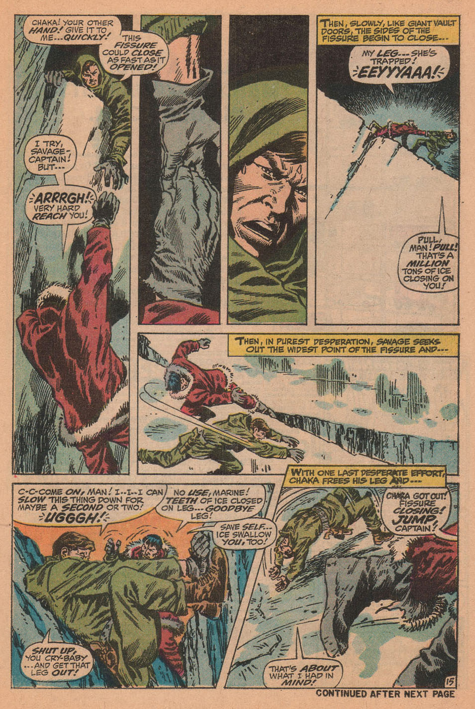 Captain Savage and his Leatherneck Raiders issue 16 - Page 21