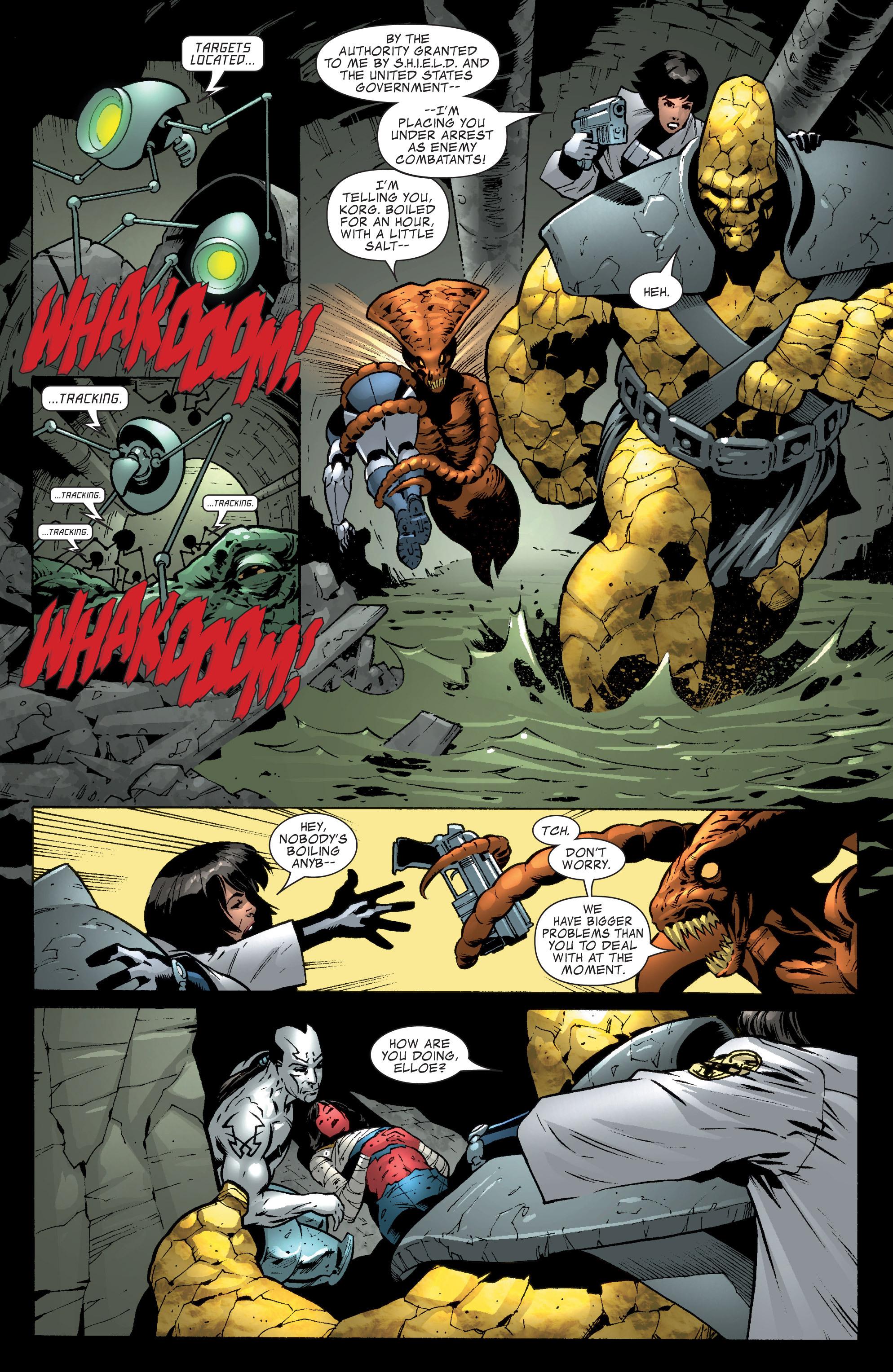 Read online World War Hulk Aftersmash: Warbound, Vol. 1 comic -  Issue #1 - 5