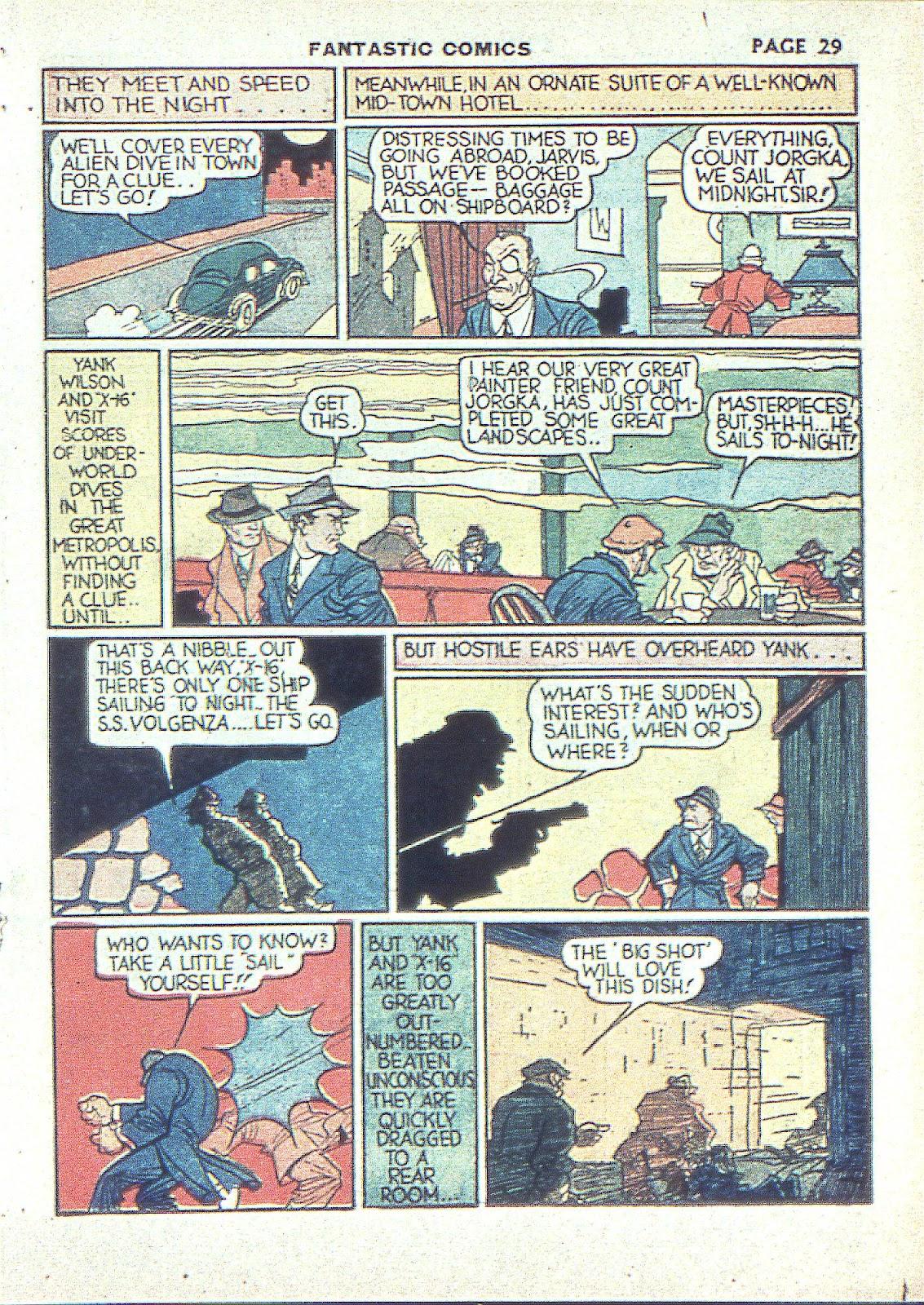 Read online Fantastic Comics comic -  Issue #3 - 32