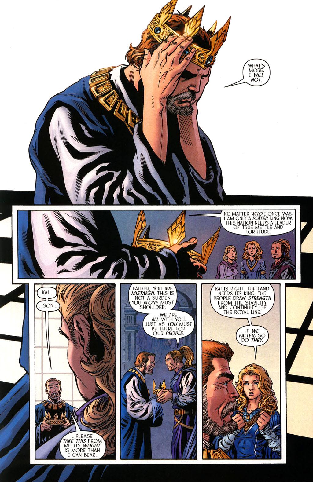 Read online Scion comic -  Issue #40 - 15