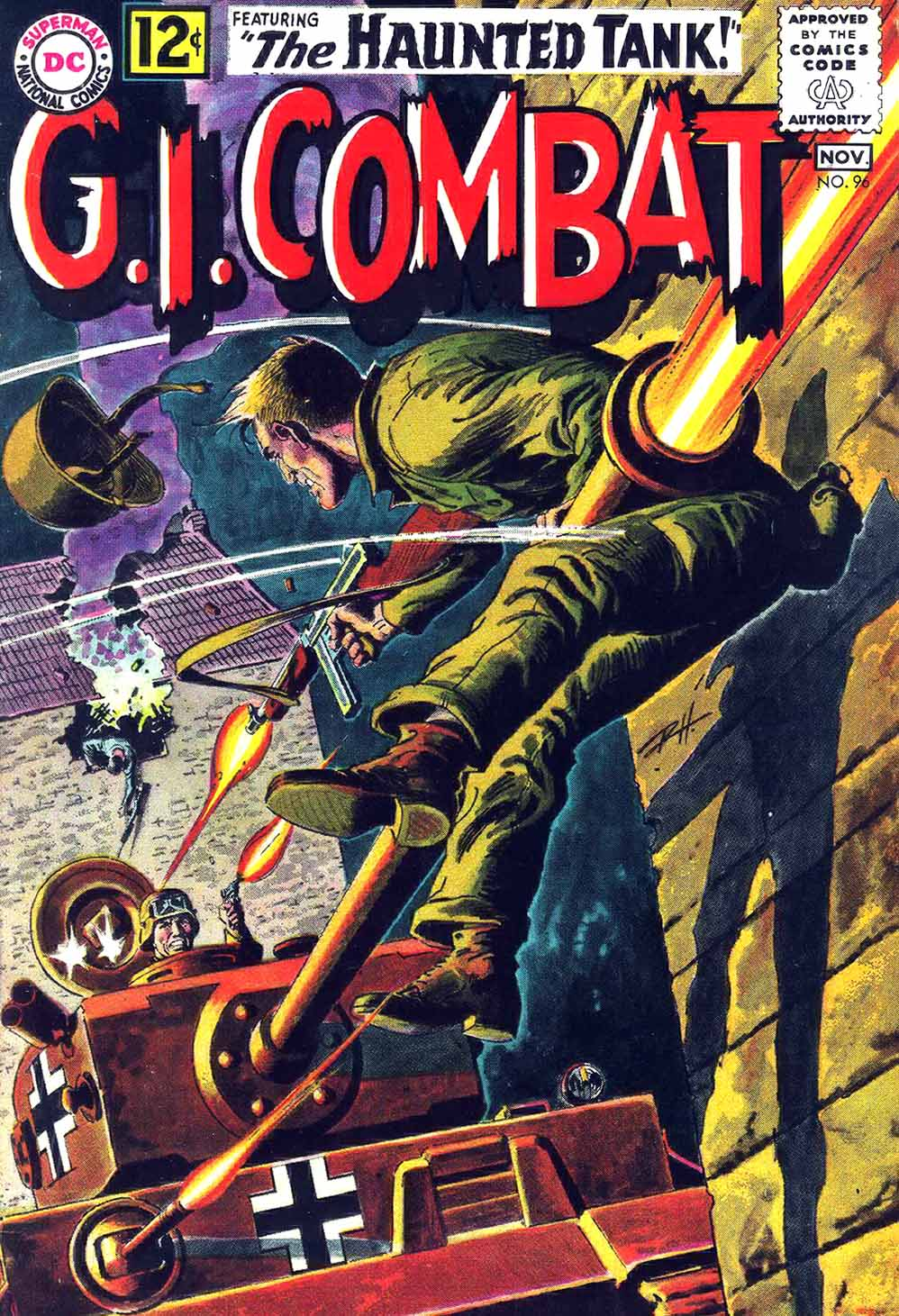 G.I. Combat (1952) issue 96 - Page 1