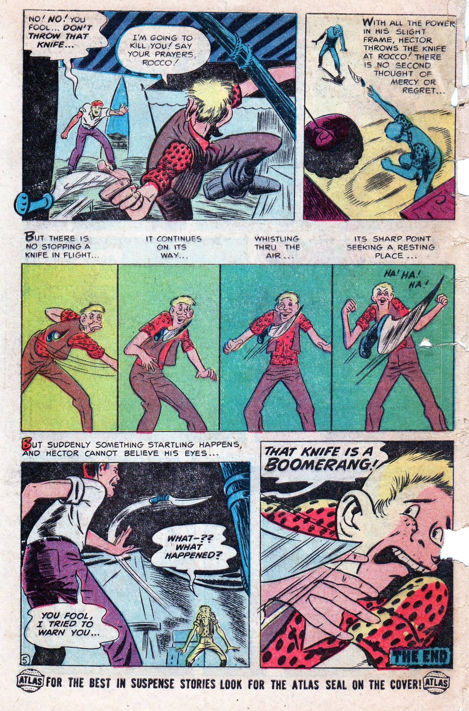 Read online Adventures into Weird Worlds comic -  Issue #11 - 32