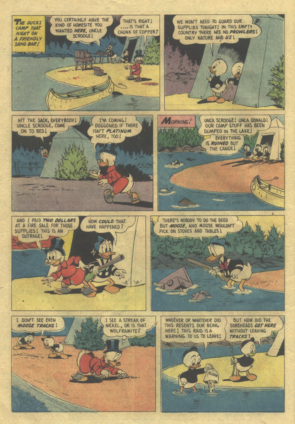 Read online Uncle Scrooge (1953) comic -  Issue #112 - 8