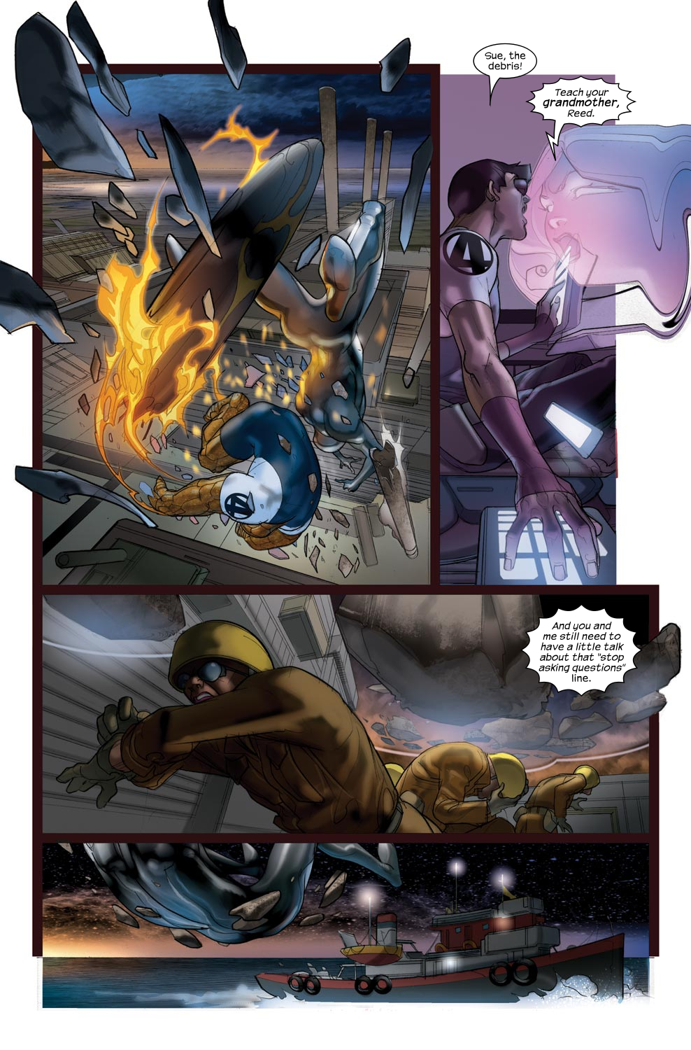 Read online Ultimate Fantastic Four (2004) comic -  Issue #43 - 12
