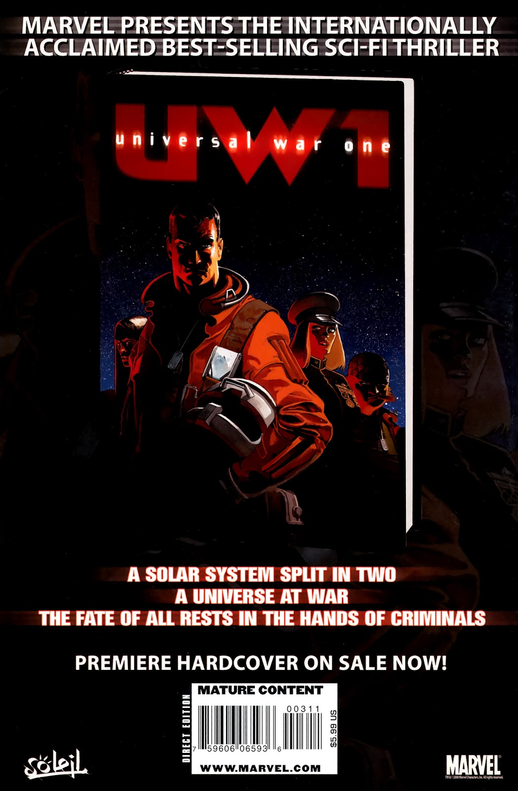 Read online Universal War One: Revelations comic -  Issue #3 - 52