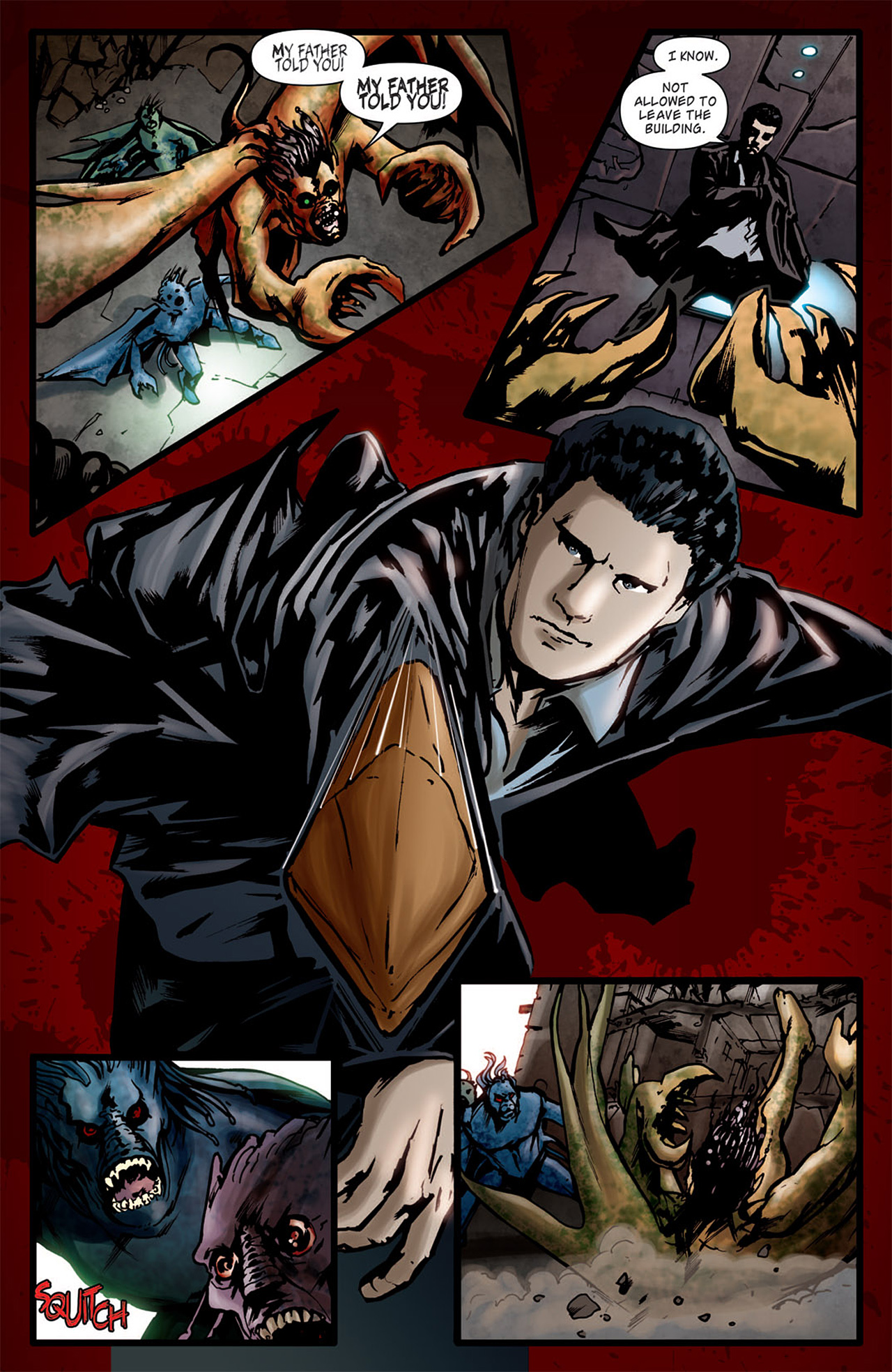 Read online Angel: After The Fall comic -  Issue #1 - 27