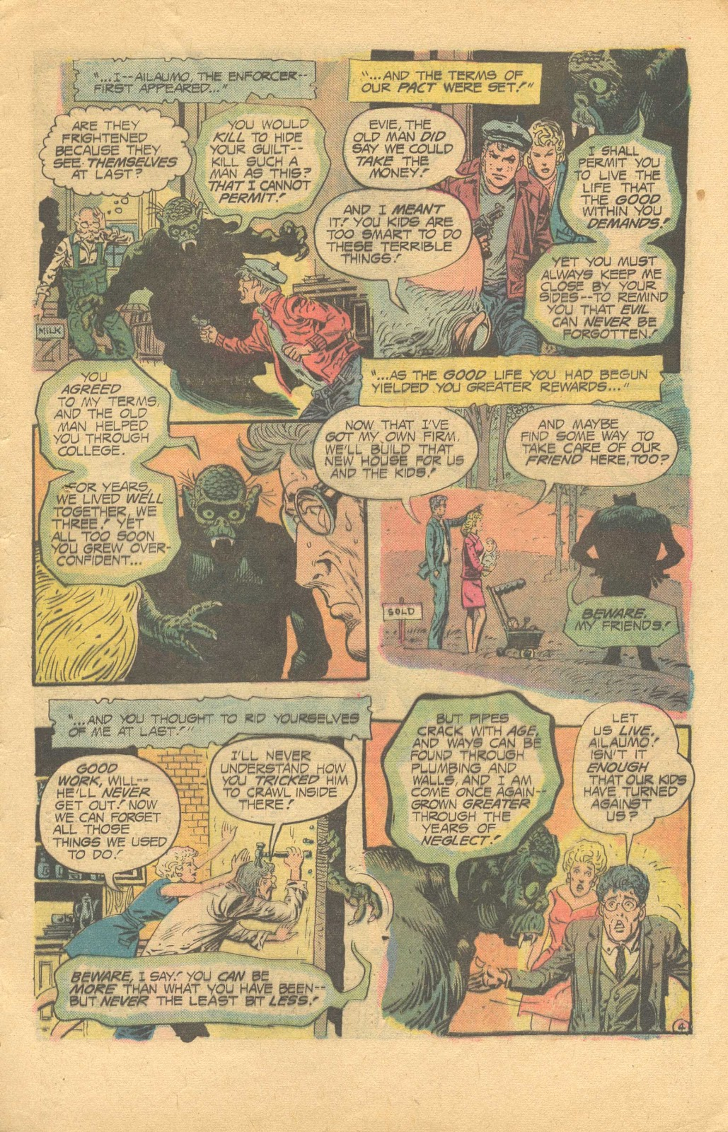 Weird Mystery Tales issue 20 - Page 8
