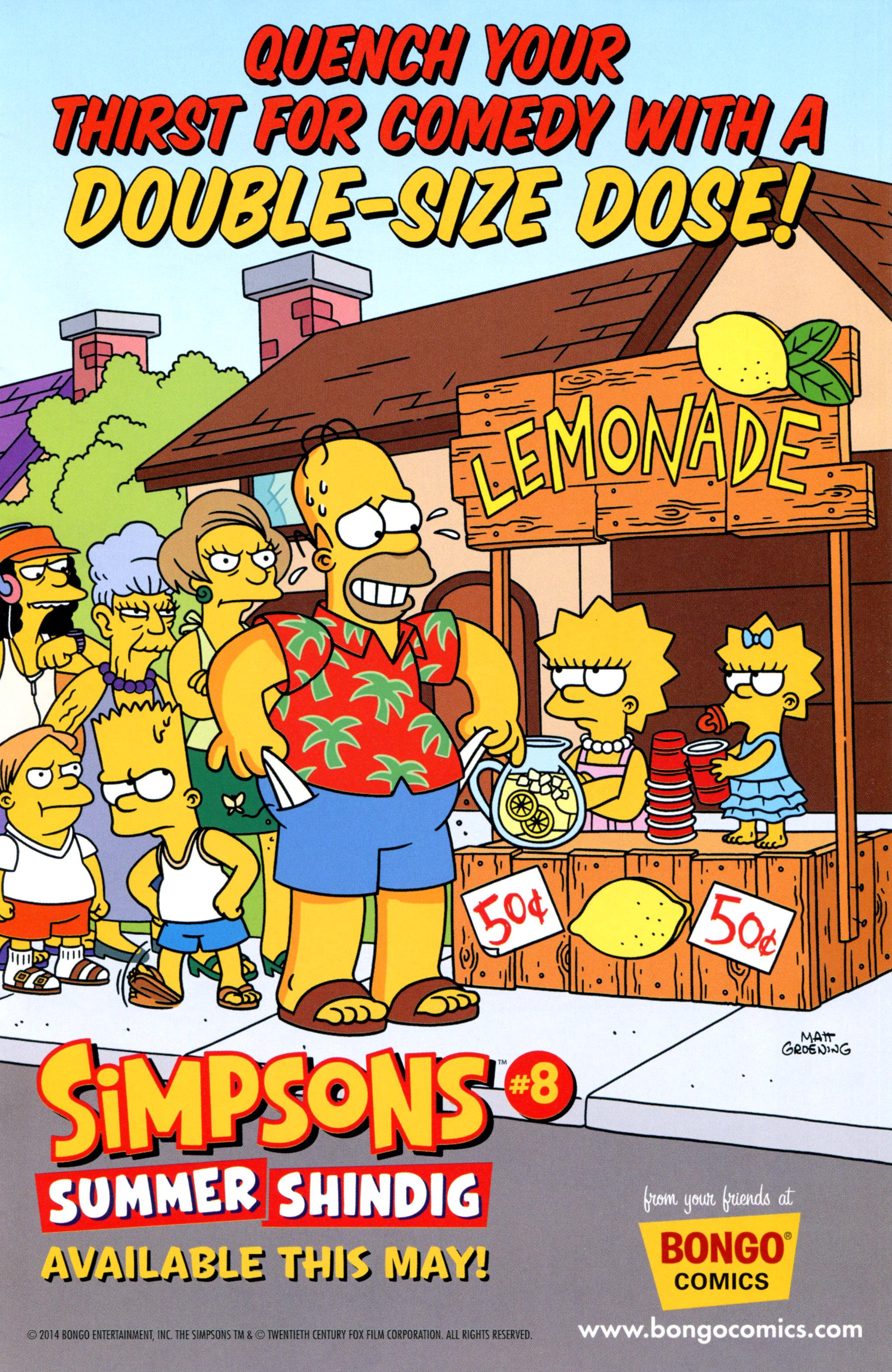 Read online Simpsons Comics comic -  Issue #210 - 25