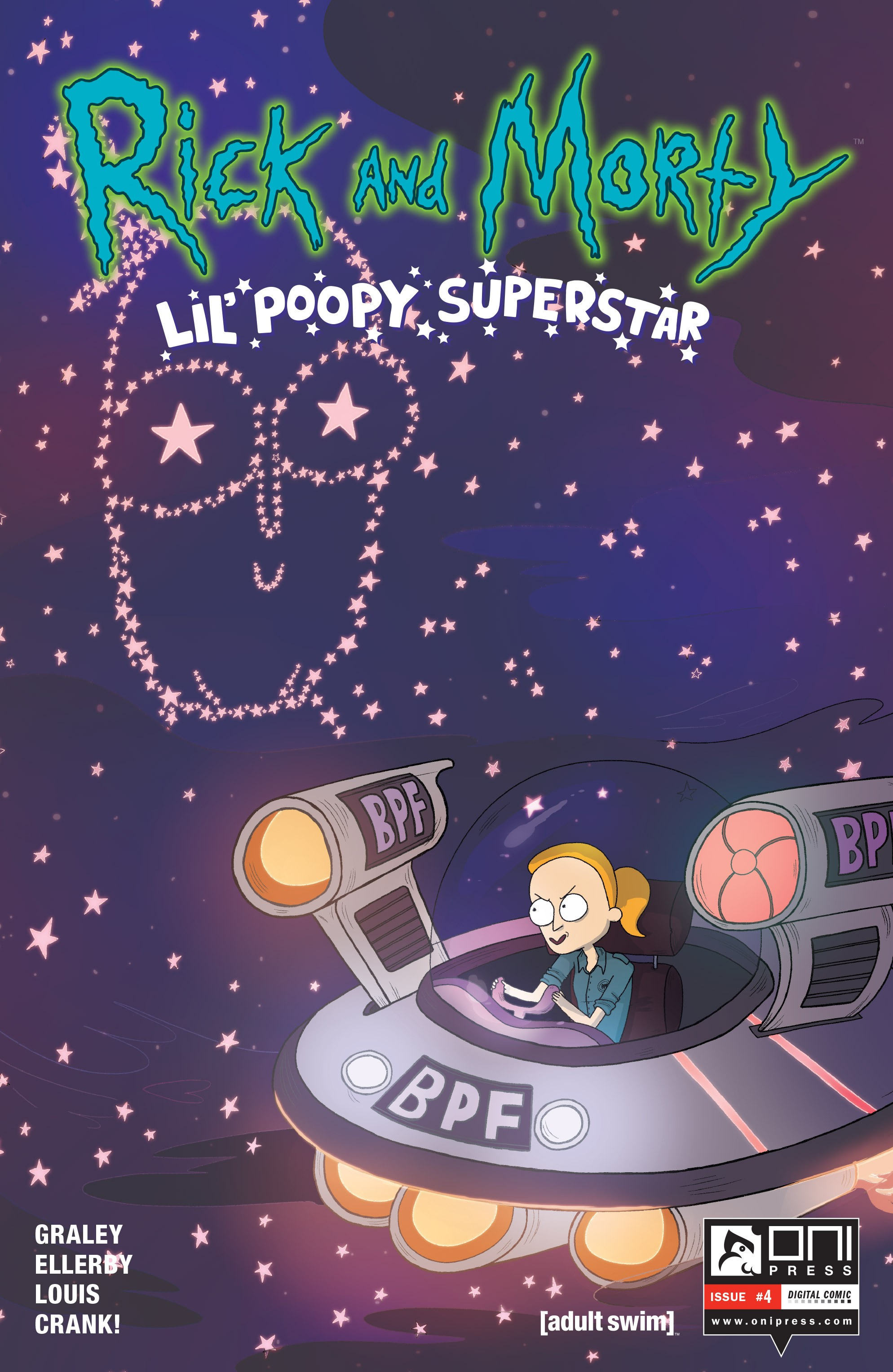Rick and Morty: Lil Poopy Superstar 4 Page 1