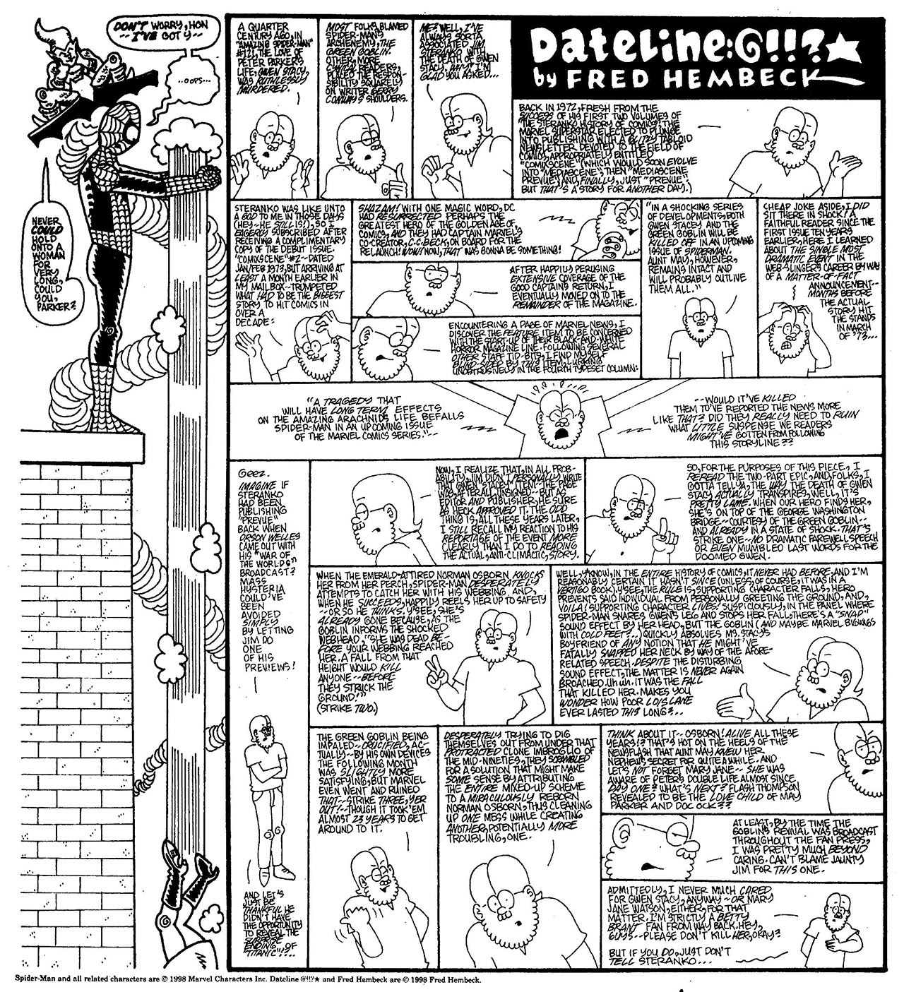 Read online The Nearly Complete Essential Hembeck Archives Omnibus comic -  Issue # TPB (Part 7) - 54