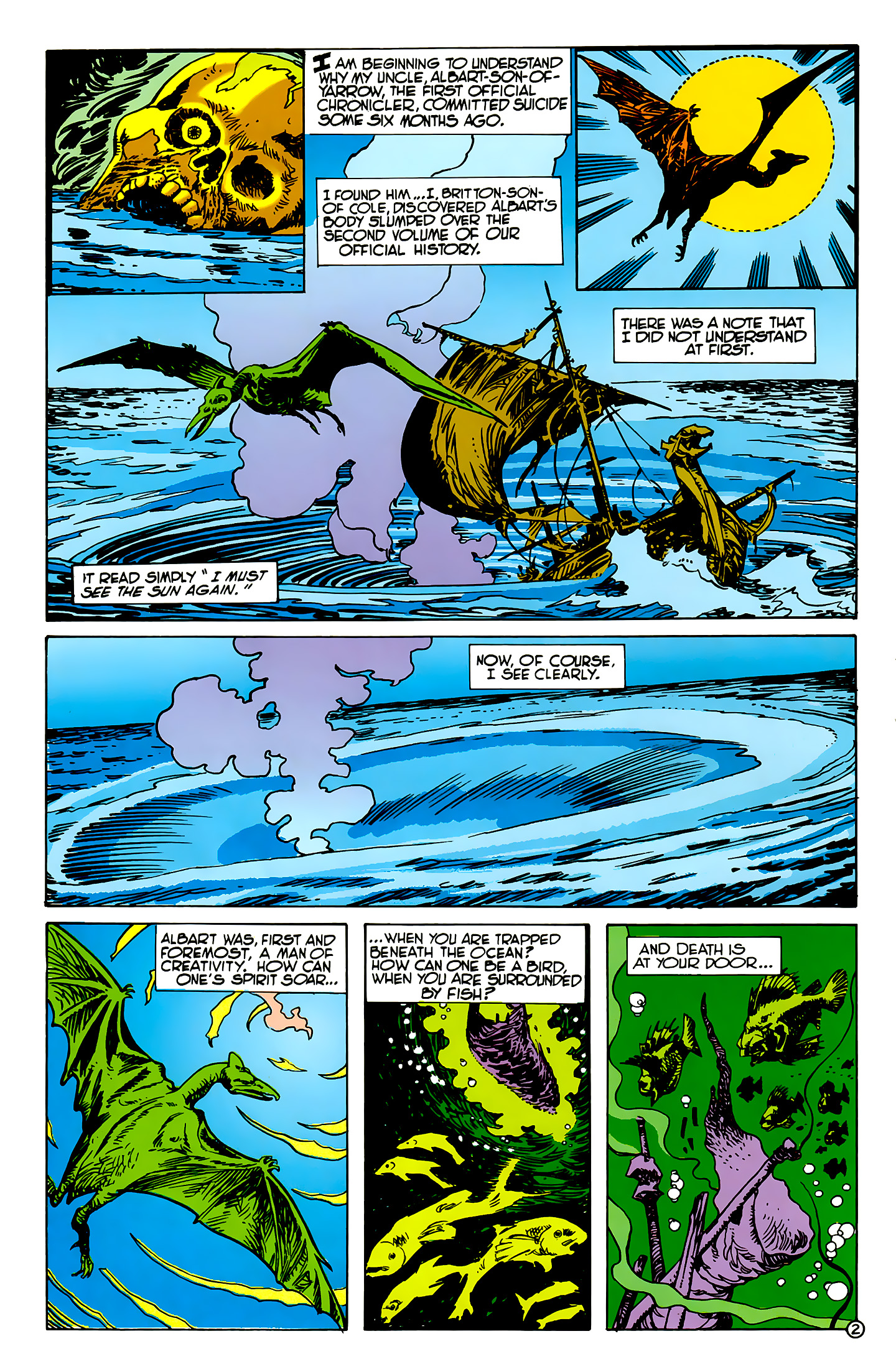 Read online Atlantis Chronicles comic -  Issue #2 - 3