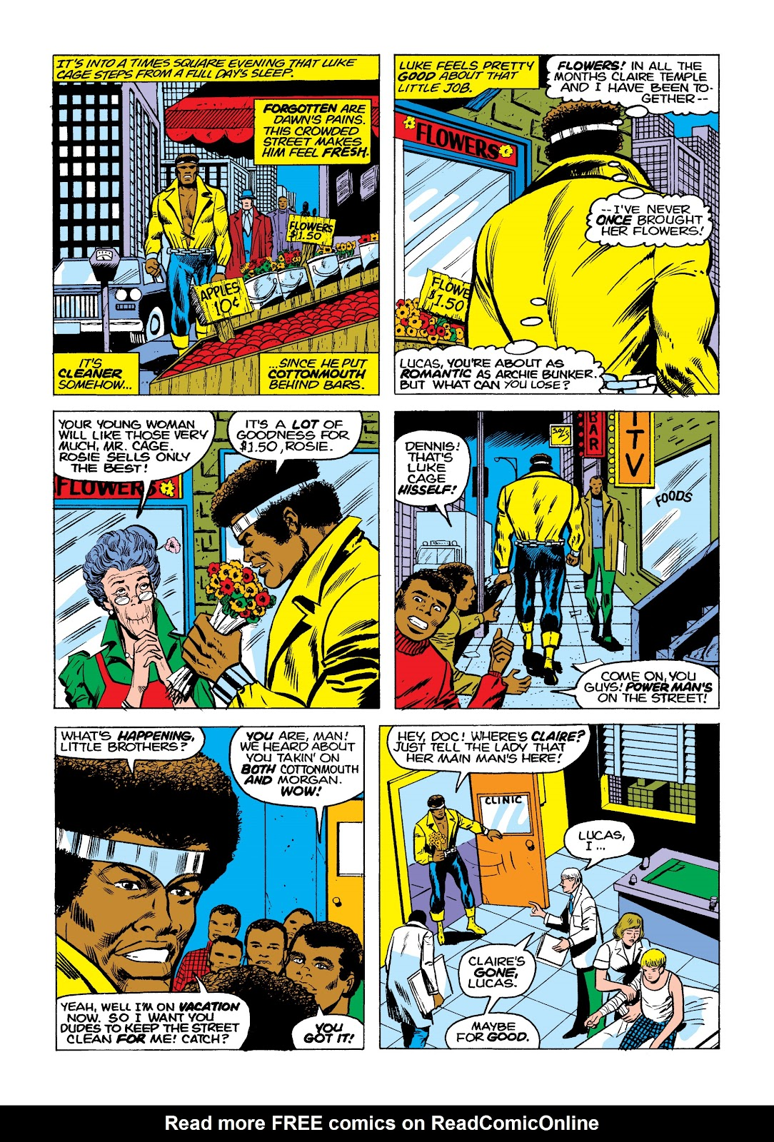 Read online Marvel Masterworks: Luke Cage, Power Man comic -  Issue # TPB 2 (Part 1) - 89