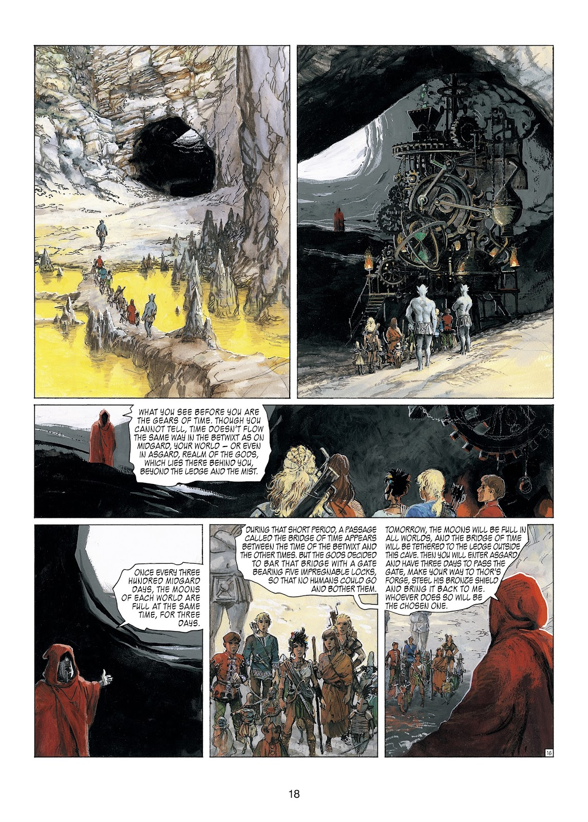 Read online Thorgal comic -  Issue #23 - 20