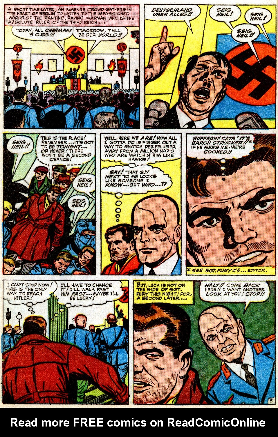 Read online Sgt. Fury comic -  Issue #9 - 12