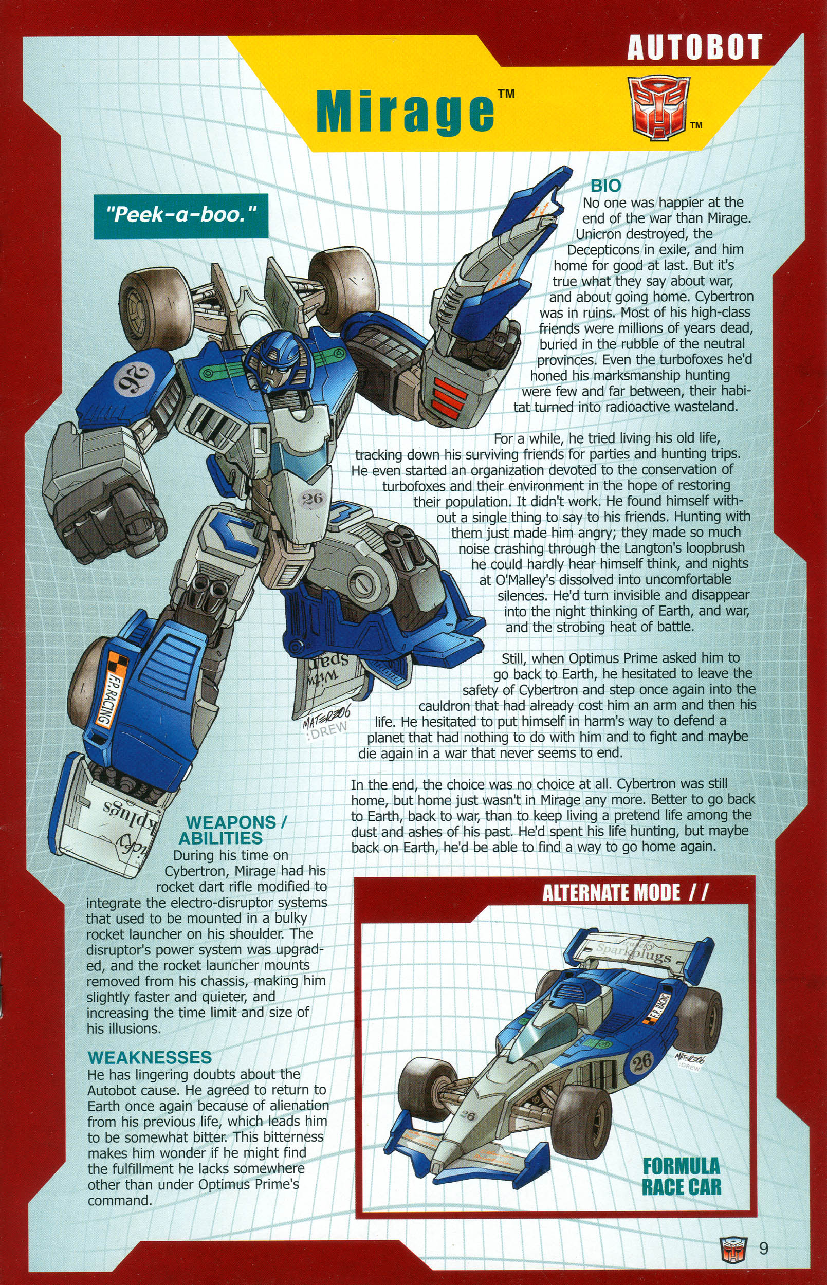 Read online Transformers: Collectors' Club comic -  Issue #13 - 9