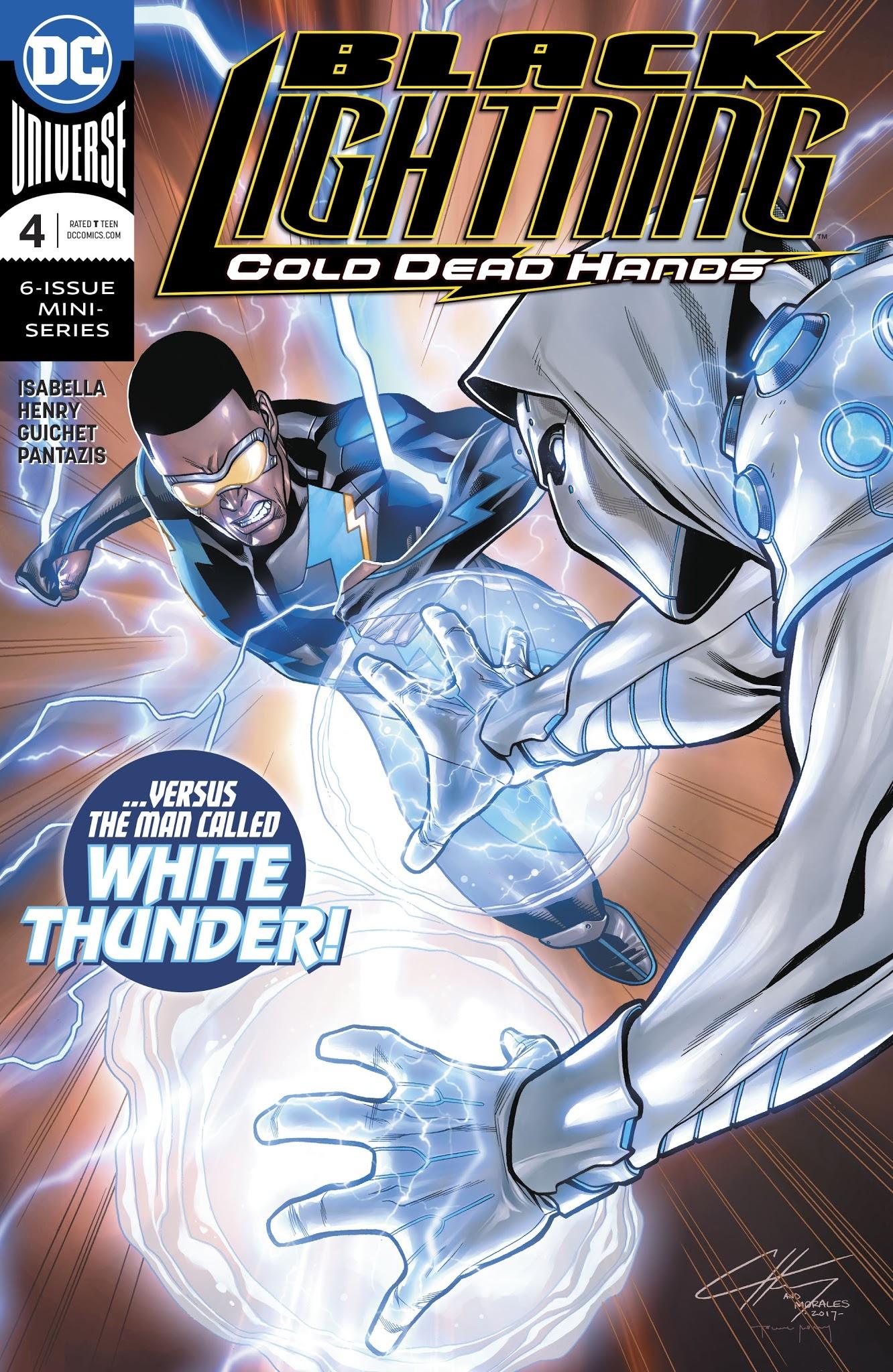 Black Lightning: Cold Dead Hands 4 Page 1