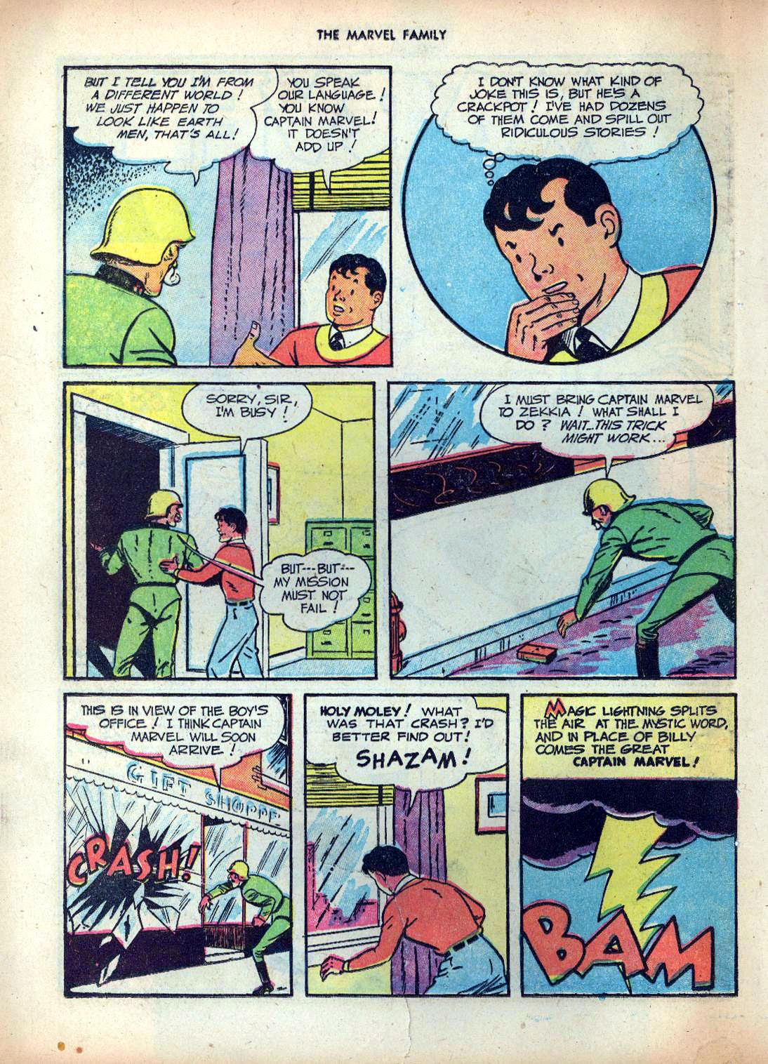 The Marvel Family issue 25 - Page 42