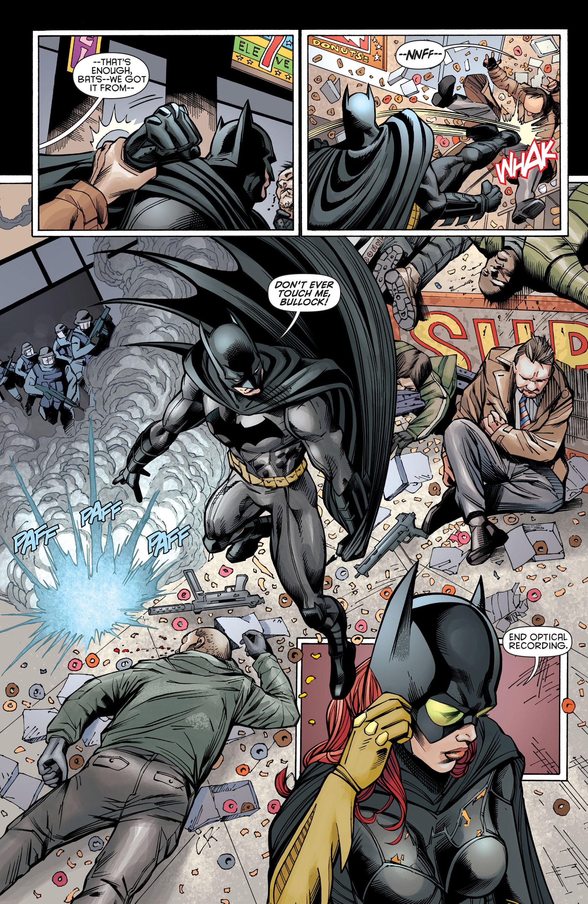 Read online Batman and Robin (2011) comic -  Issue #21 - Batman and Batgirl - 14