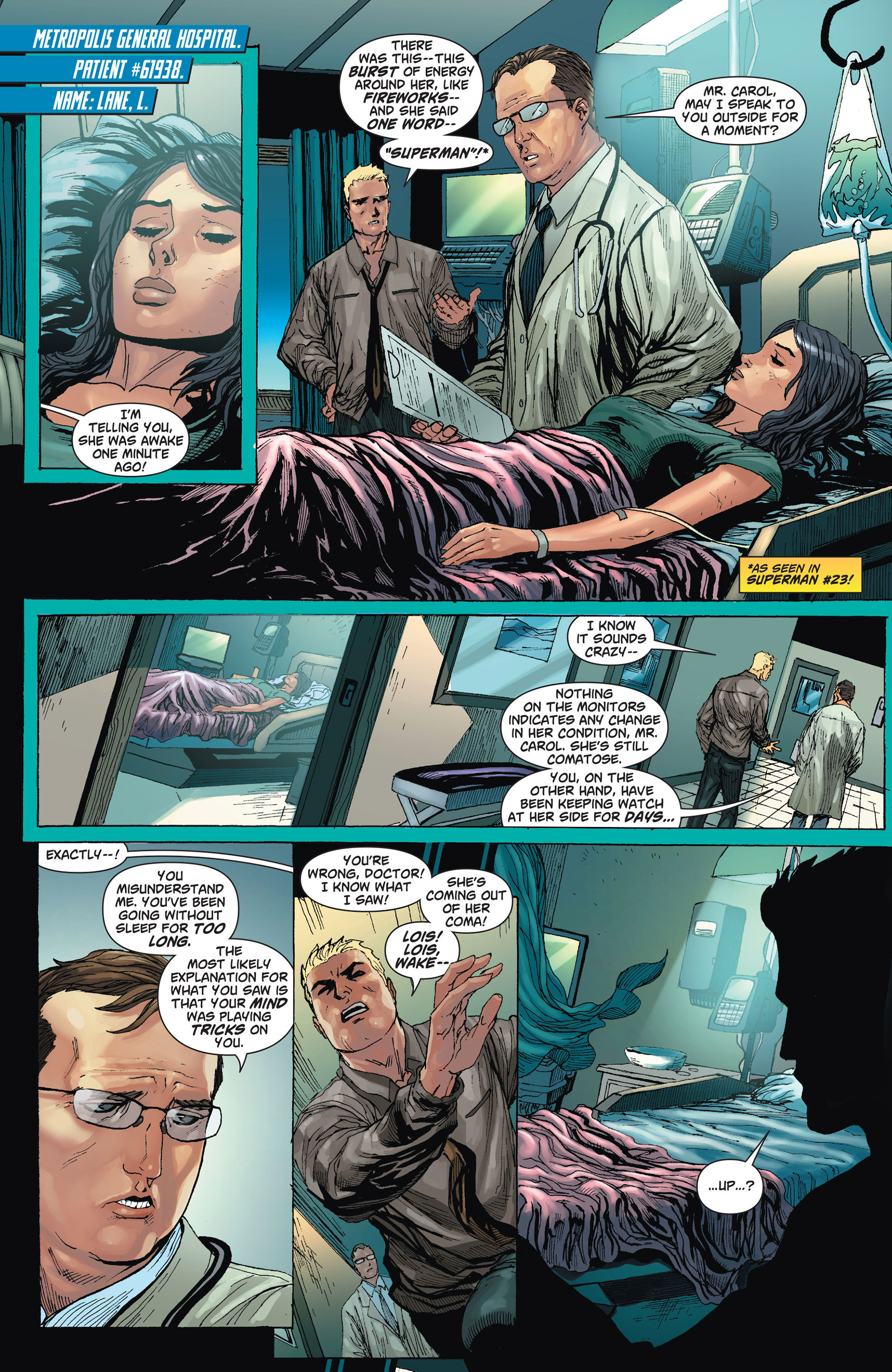 Read online Action Comics (2011) comic -  Issue #24 - 2