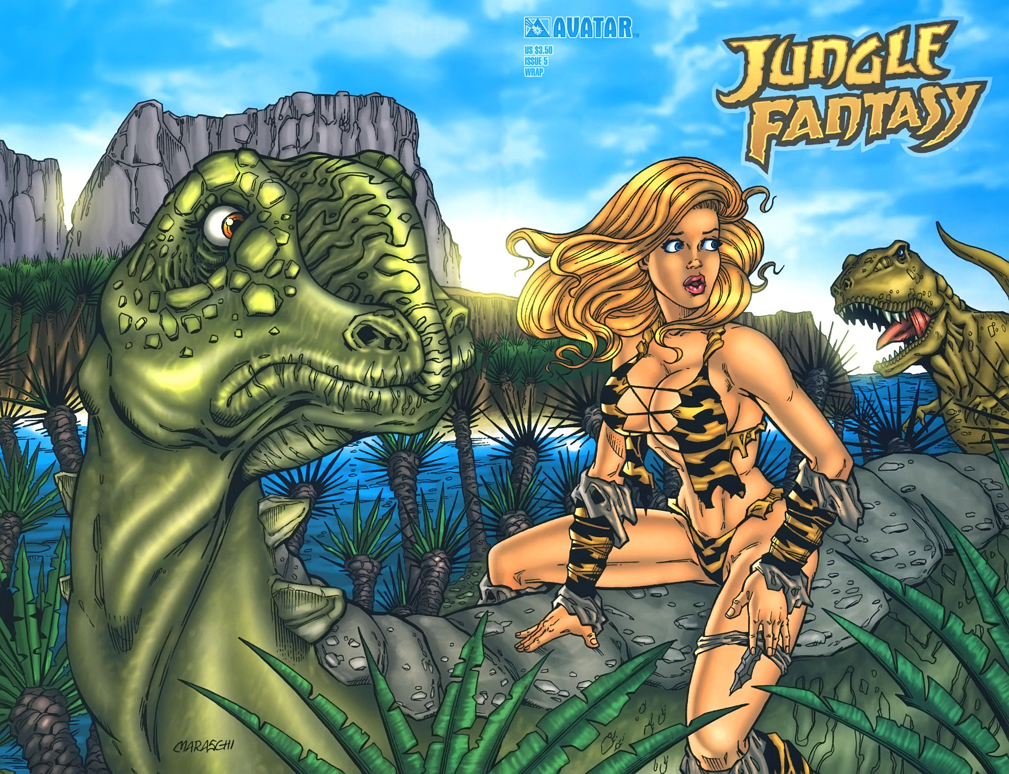Read online Jungle Fantasy (2002) comic -  Issue #5 - 3