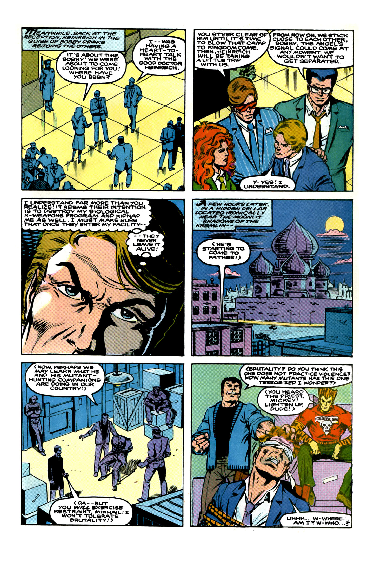 Read online X-Factor (1986) comic -  Issue # _ Annual 1 - 21