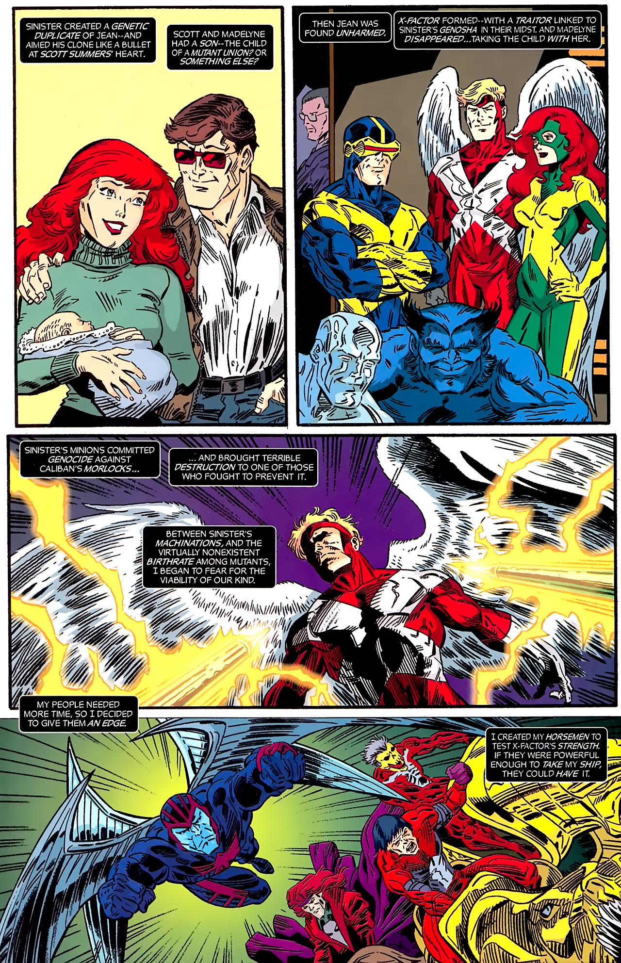 Read online X-Factor Forever comic -  Issue #5 - 22