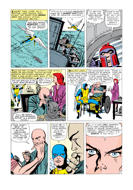 Read online Uncanny X-Men (1963) comic -  Issue #4 - 8