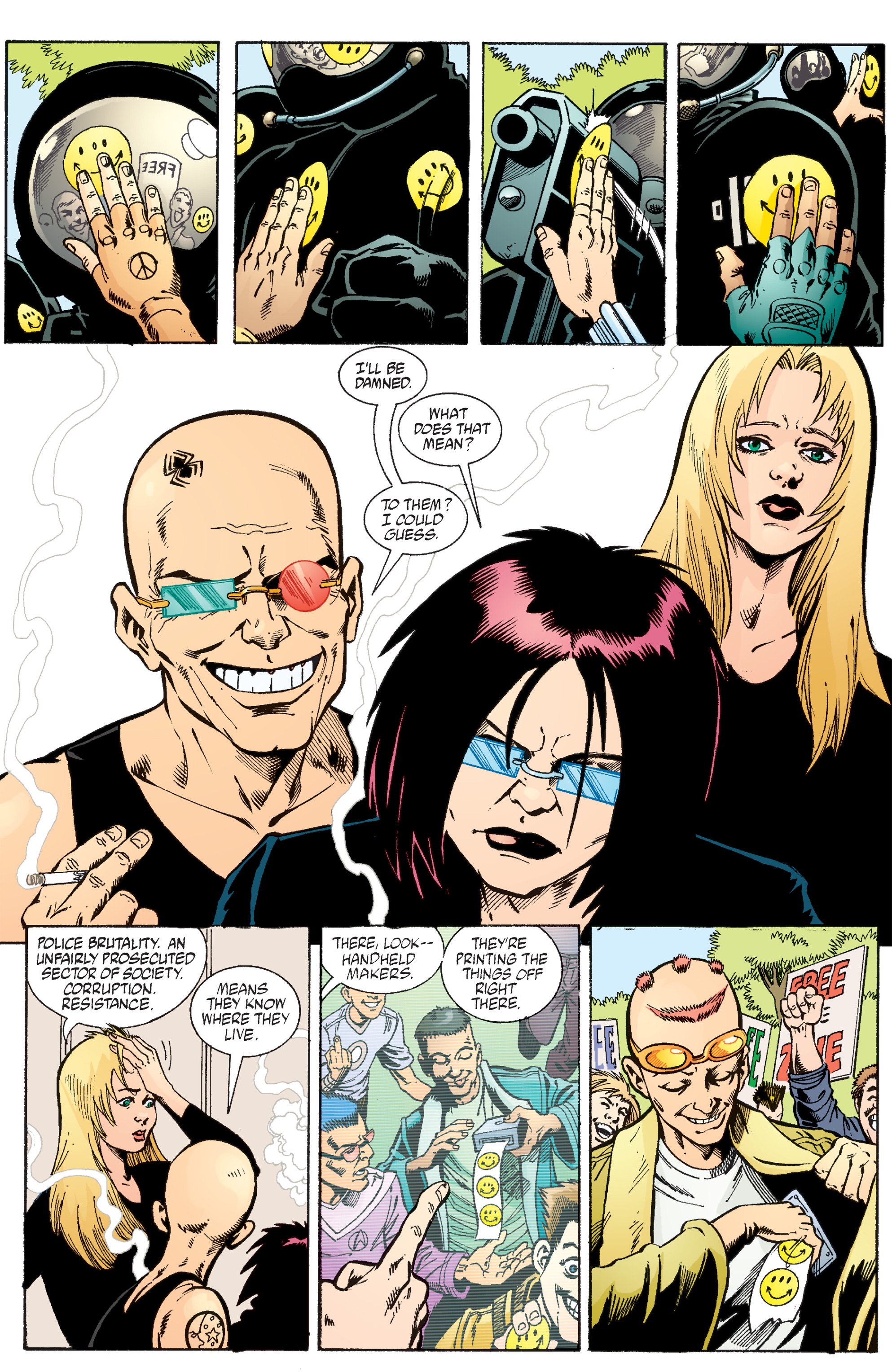 Read online Transmetropolitan comic -  Issue #56 - 22