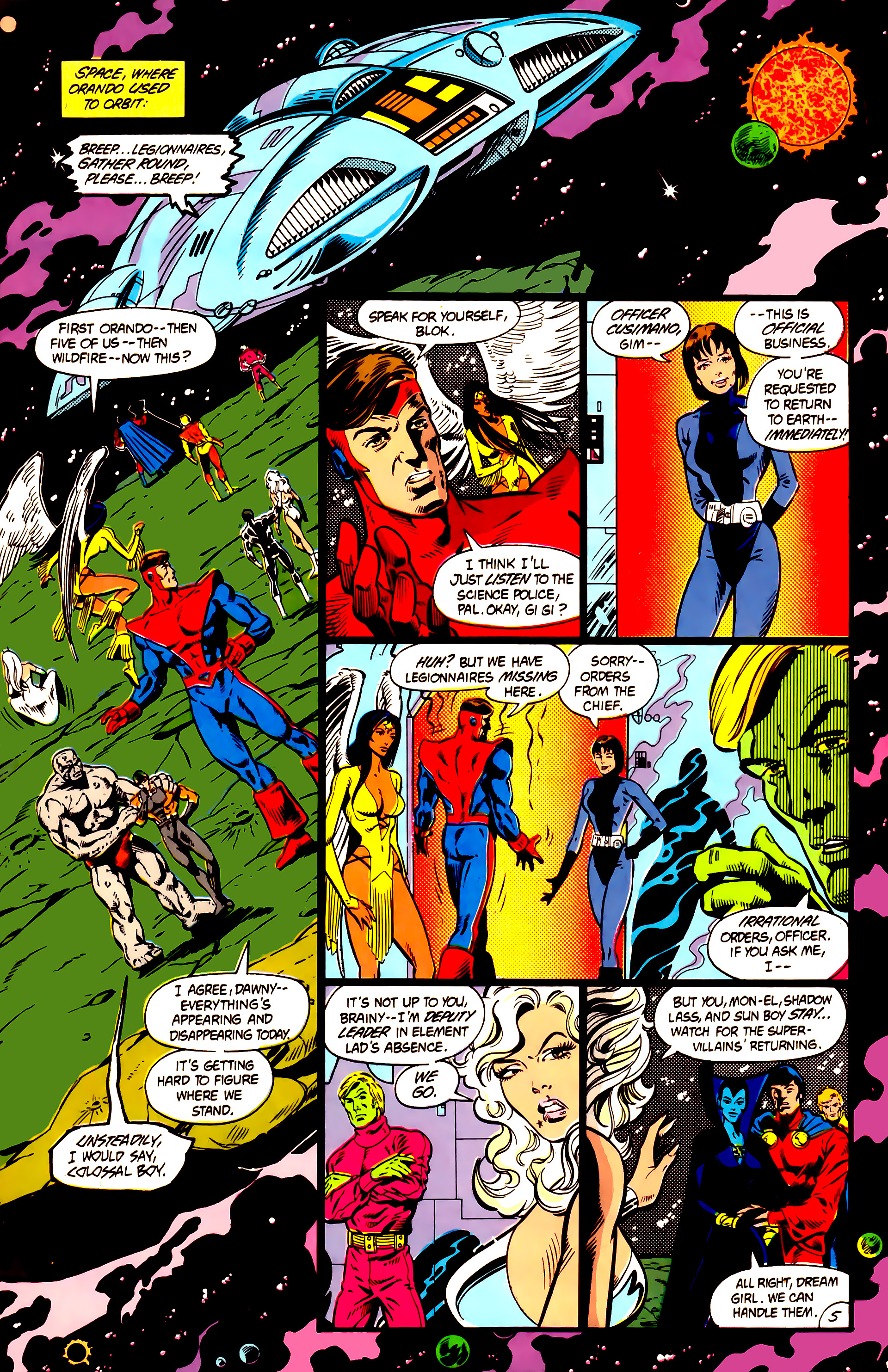 Legion of Super-Heroes (1984) 5 Page 6